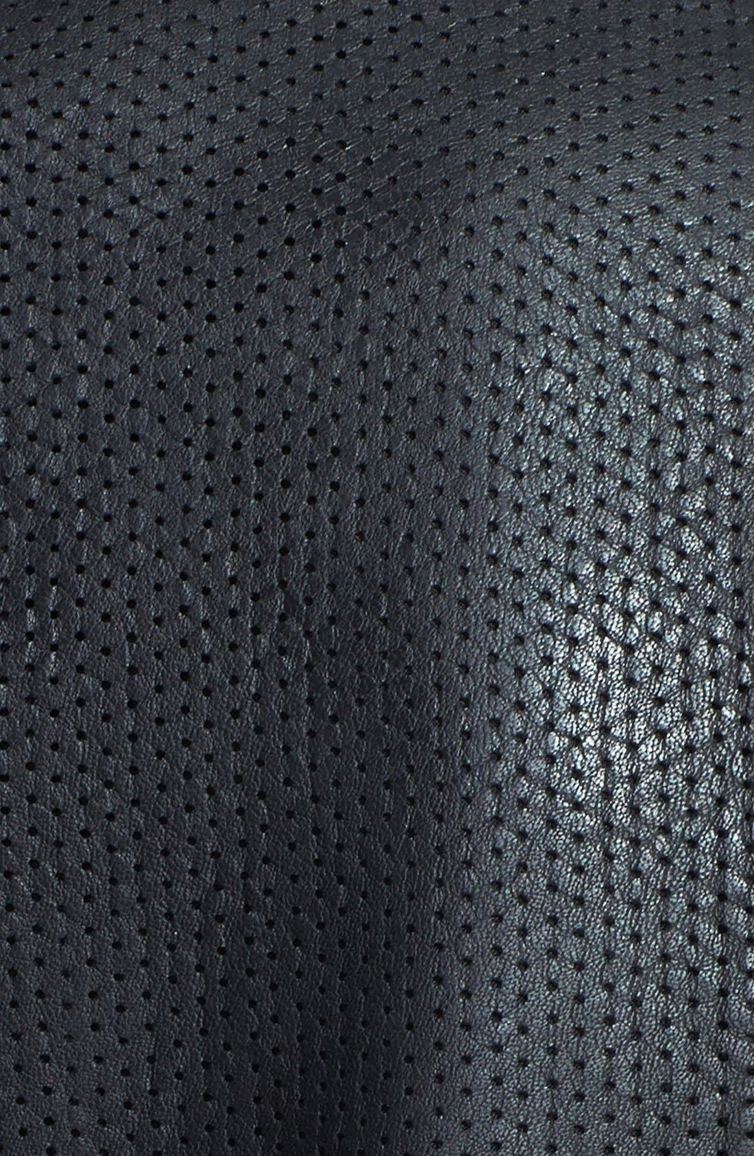 Alternate Image 3  - Lucky Brand 'Carson' Perforated Leather Jacket