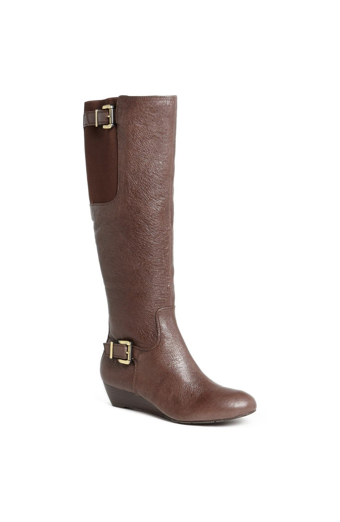 Alternate Image 1 Selected - Jessica Simpson 'Beeson' Wedge Boot
