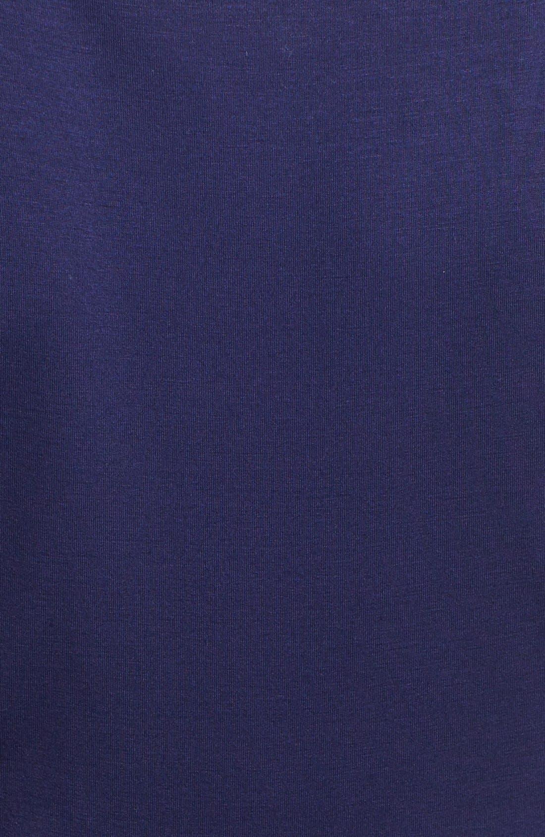 Alternate Image 3  - Three Dots V-Neck Jersey Maxi Dress
