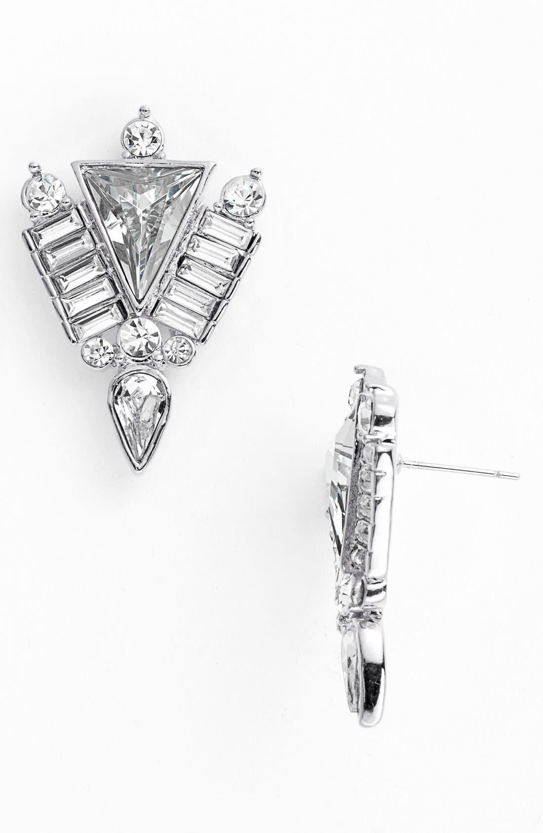 Alternate Image 1 Selected - Vince Camuto 'Crystal Clear' Stud Earrings