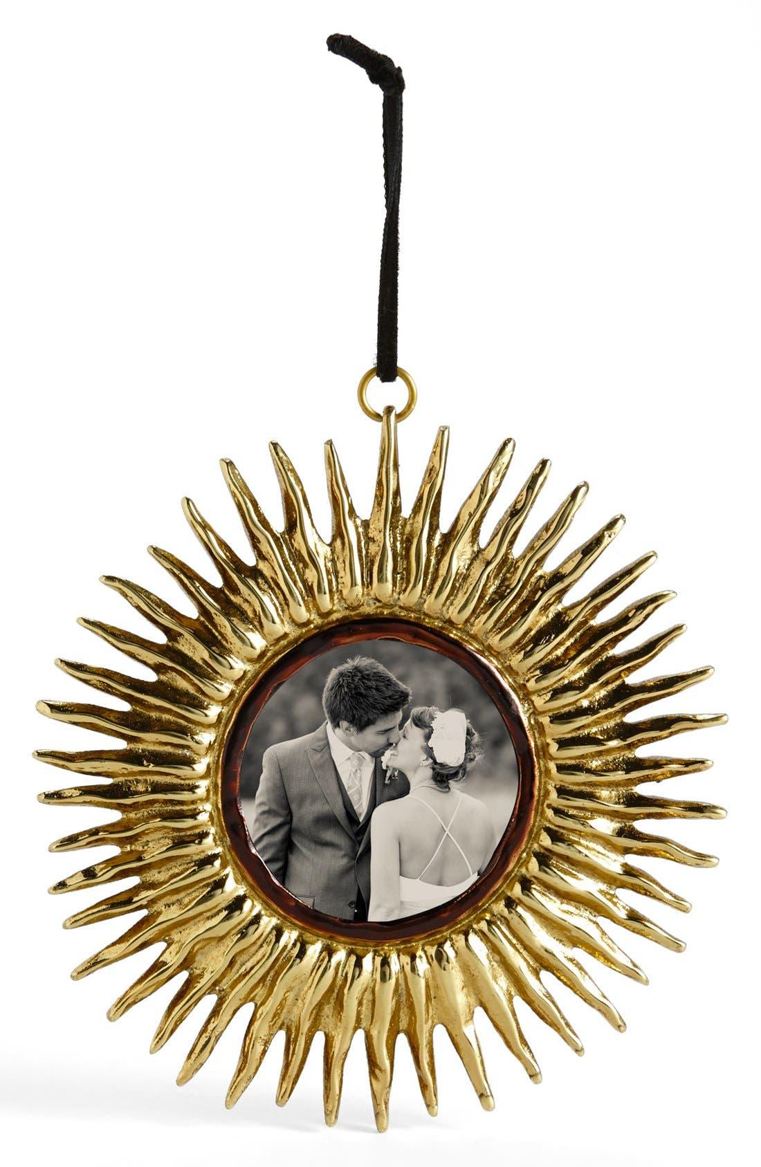 Alternate Image 1 Selected - Michael Aram 'Sunburst Frame' Ornament