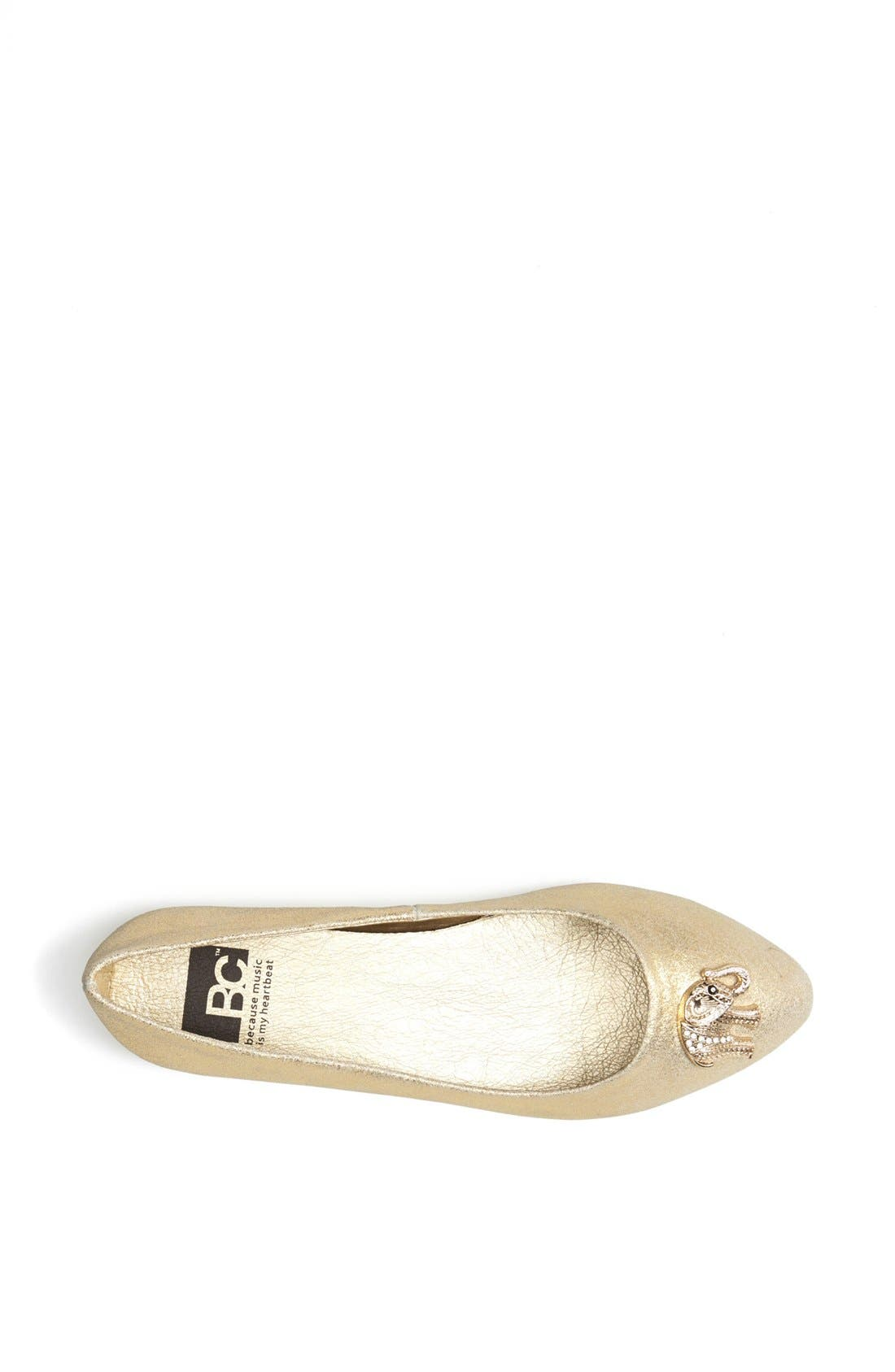 Alternate Image 3  - BC Footwear 'Tempo' Elephant Charm Flat