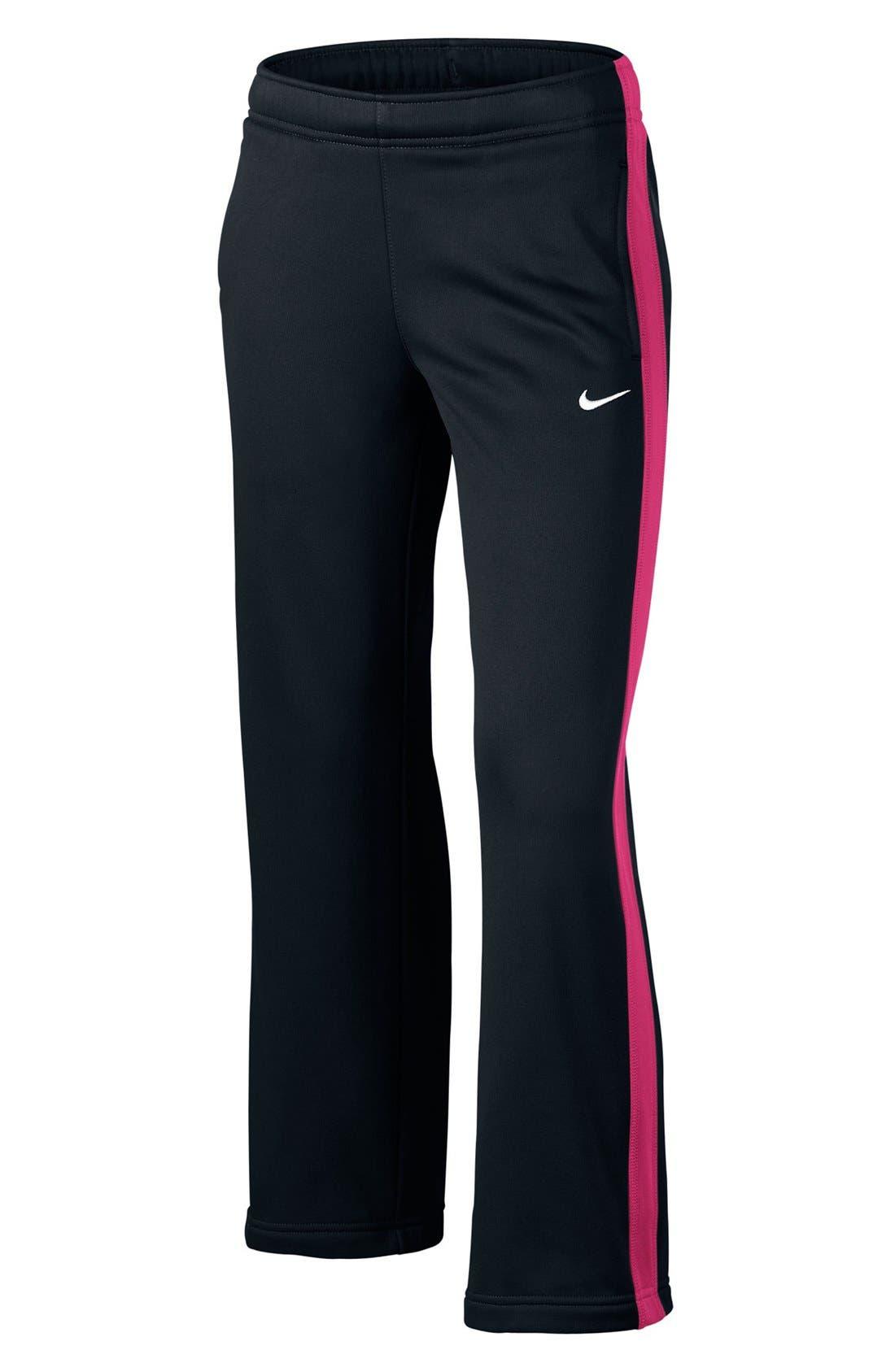 Alternate Image 1 Selected - Nike 'KO' Fleece Pants (Little Girls & Big Girls)