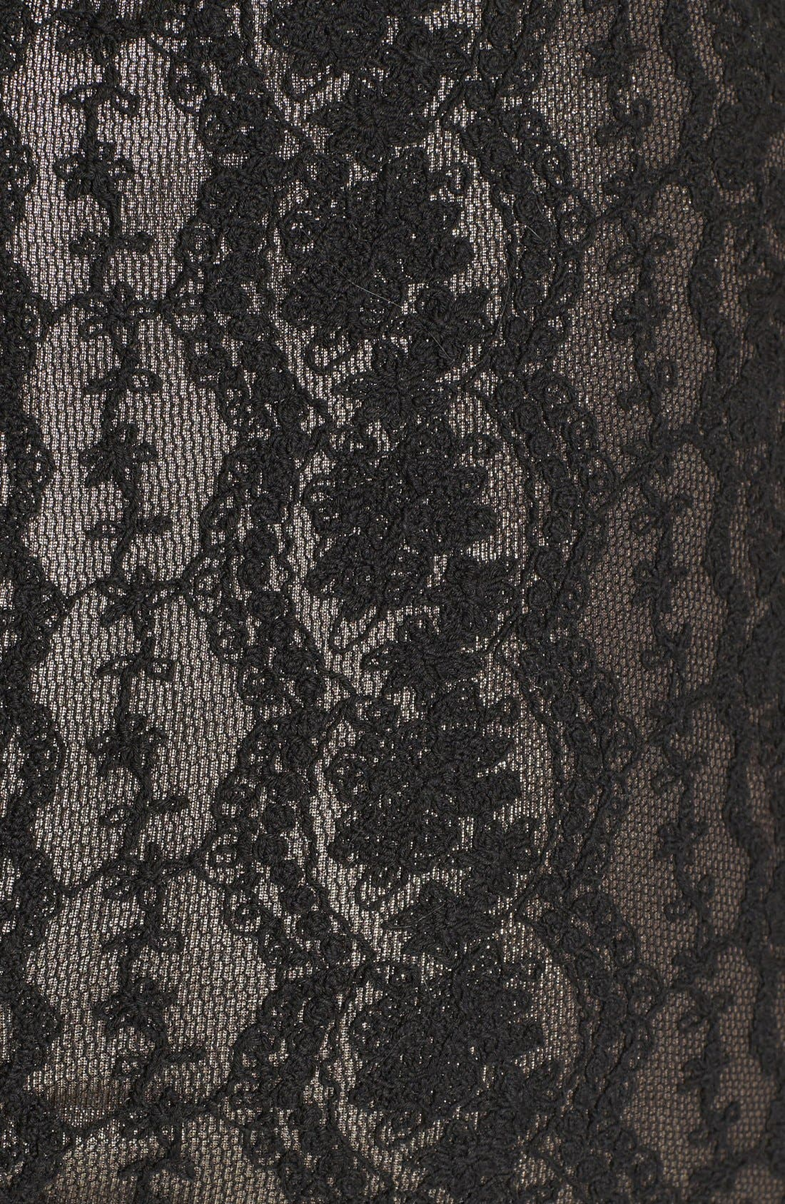 Alternate Image 3  - Lucca Couture Strapless Lace Dress