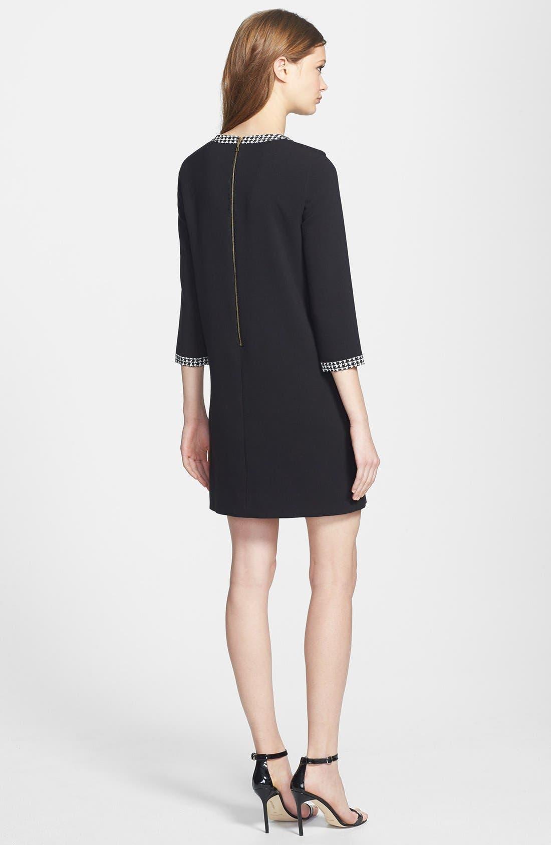 Alternate Image 2  - kate spade new york 'wray' stretch shift dress
