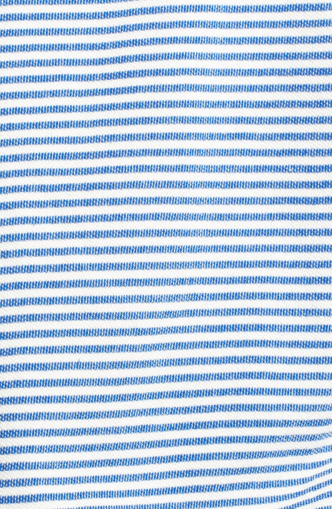 Alternate Image 3  - Soft Joie 'Evita' Stripe Cotton Hoodie