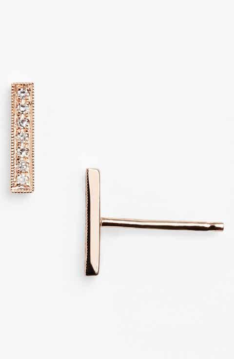 Women S 14k Gold Earrings Nordstrom