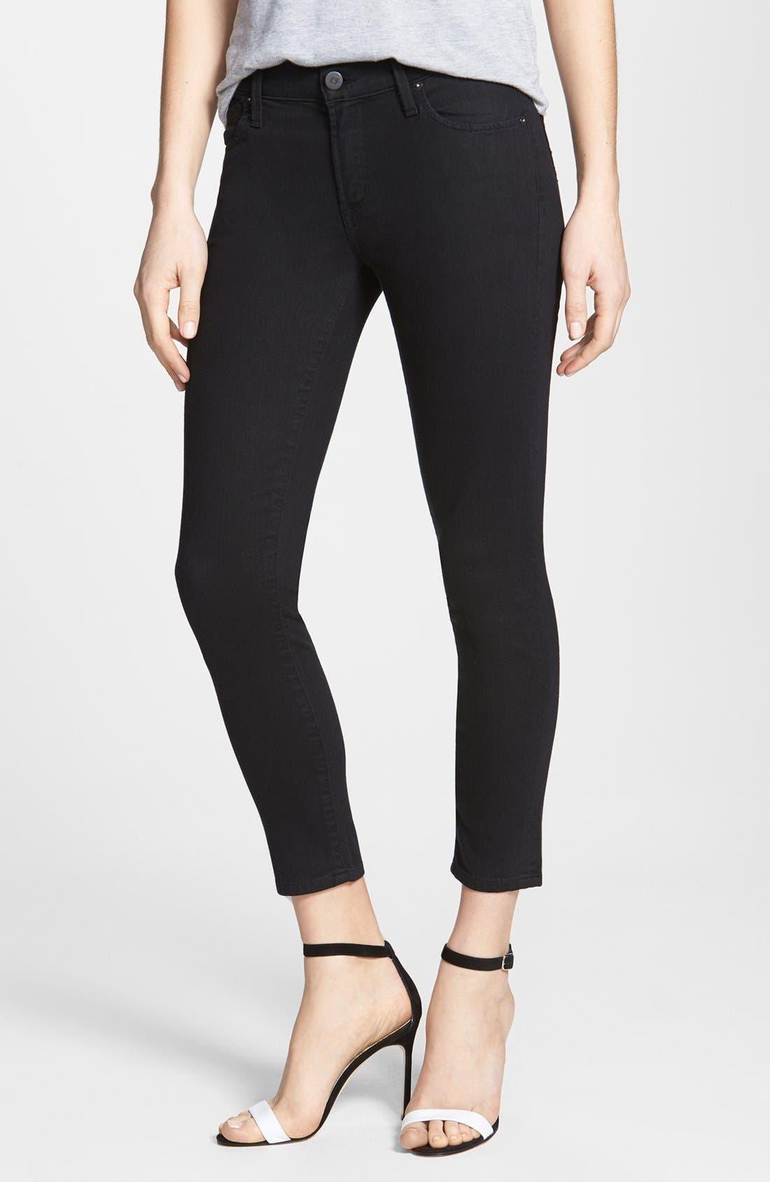 Main Image - Citizens of Humanity Skinny Crop Jeans (Black Diamond)