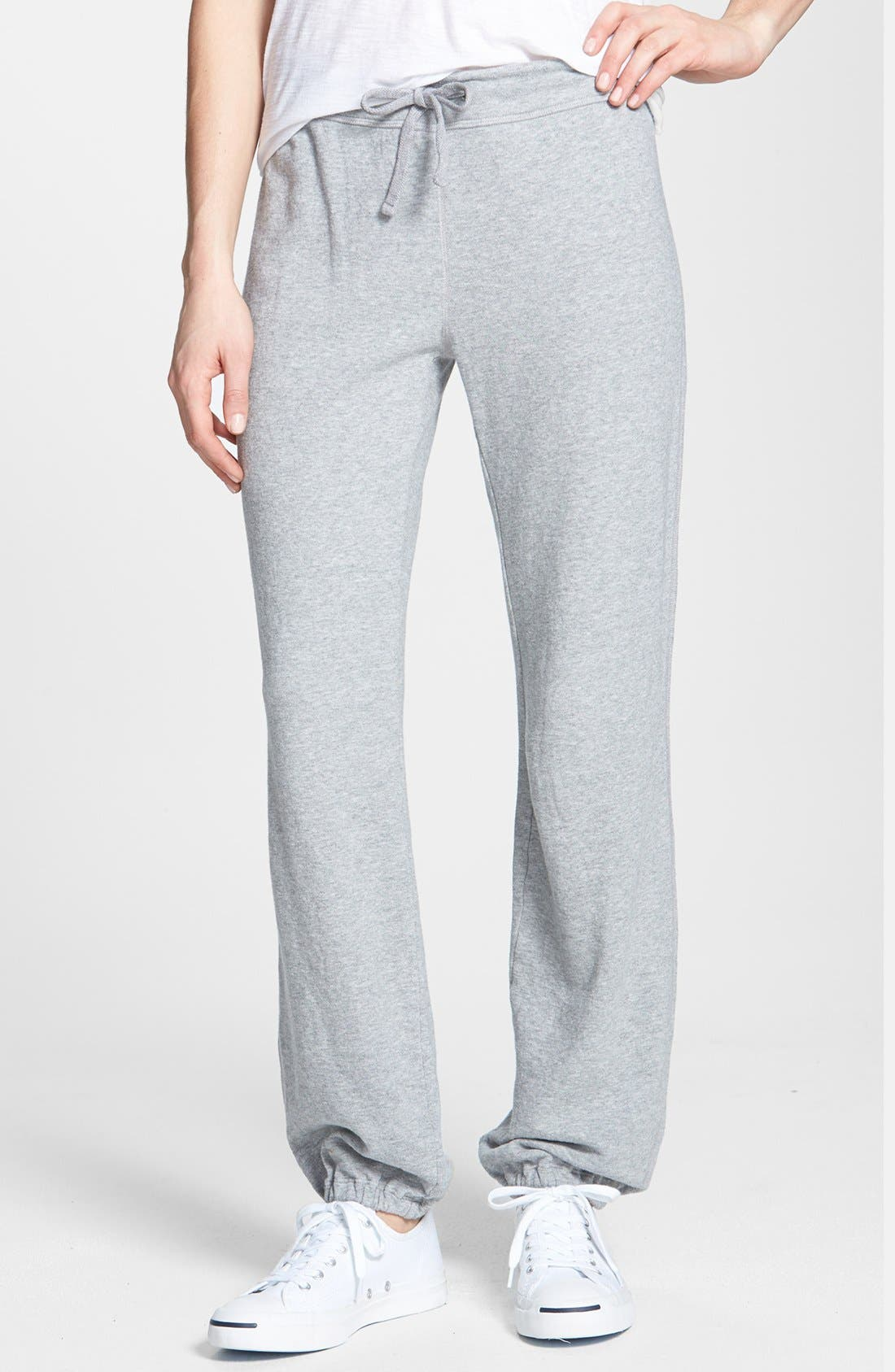 Alternate Image 1 Selected - James Perse 'Vintage' Fleece Sweatpants