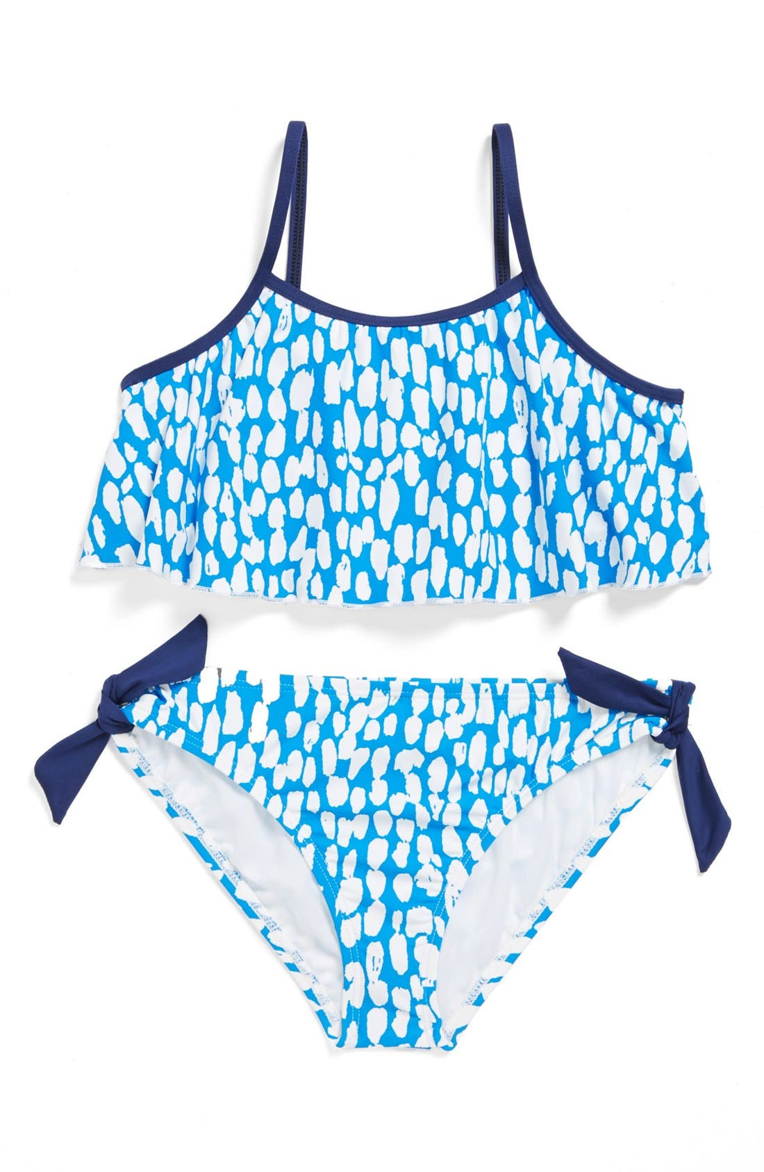Alternate Image 1 Selected - Splendid Two-Piece Swimsuit (Big Girls)