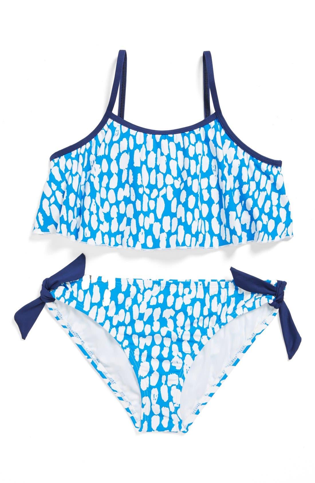 Main Image - Splendid Two-Piece Swimsuit (Big Girls)