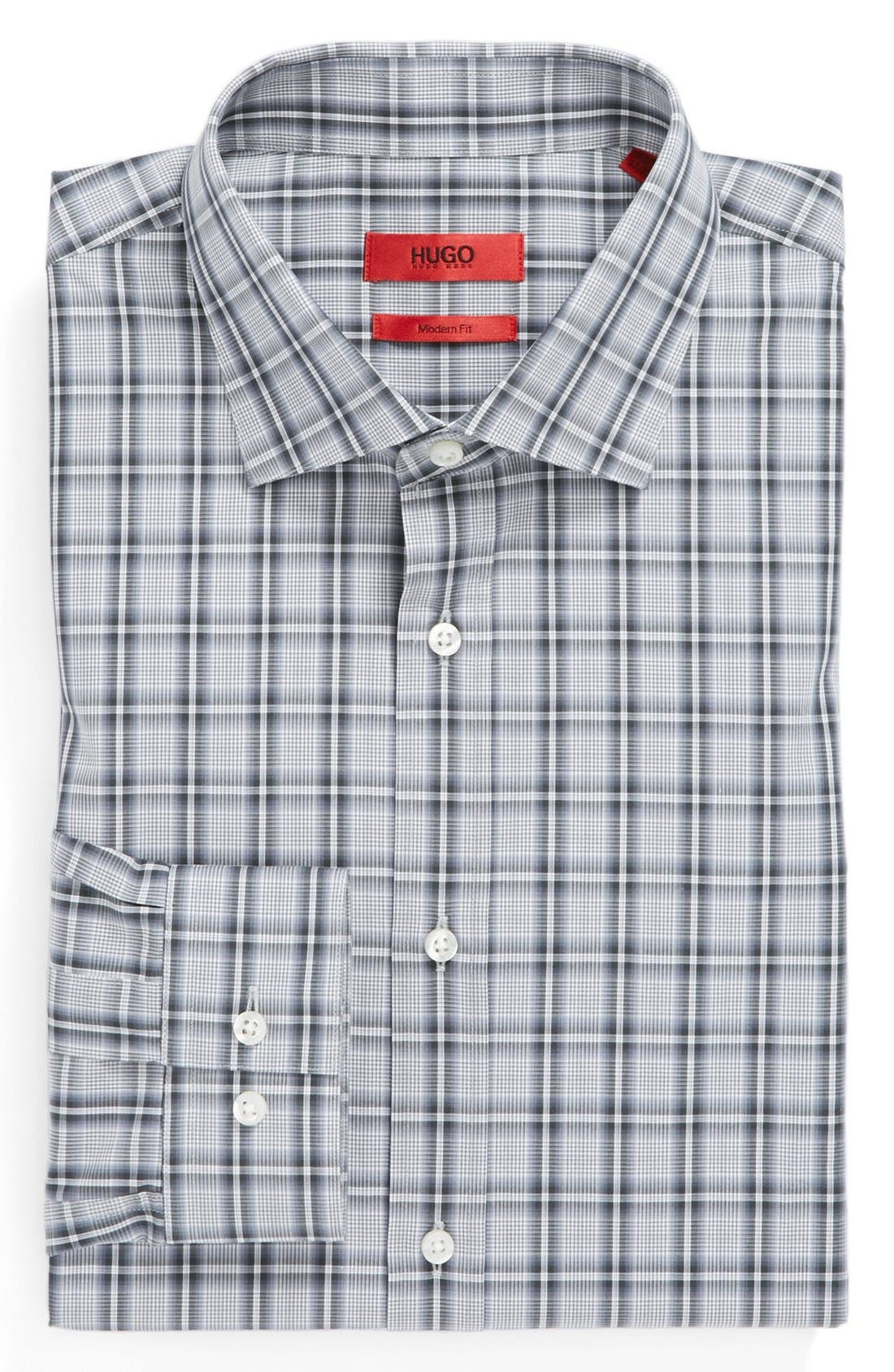 Main Image - HUGO Modern Fit Dress Shirt