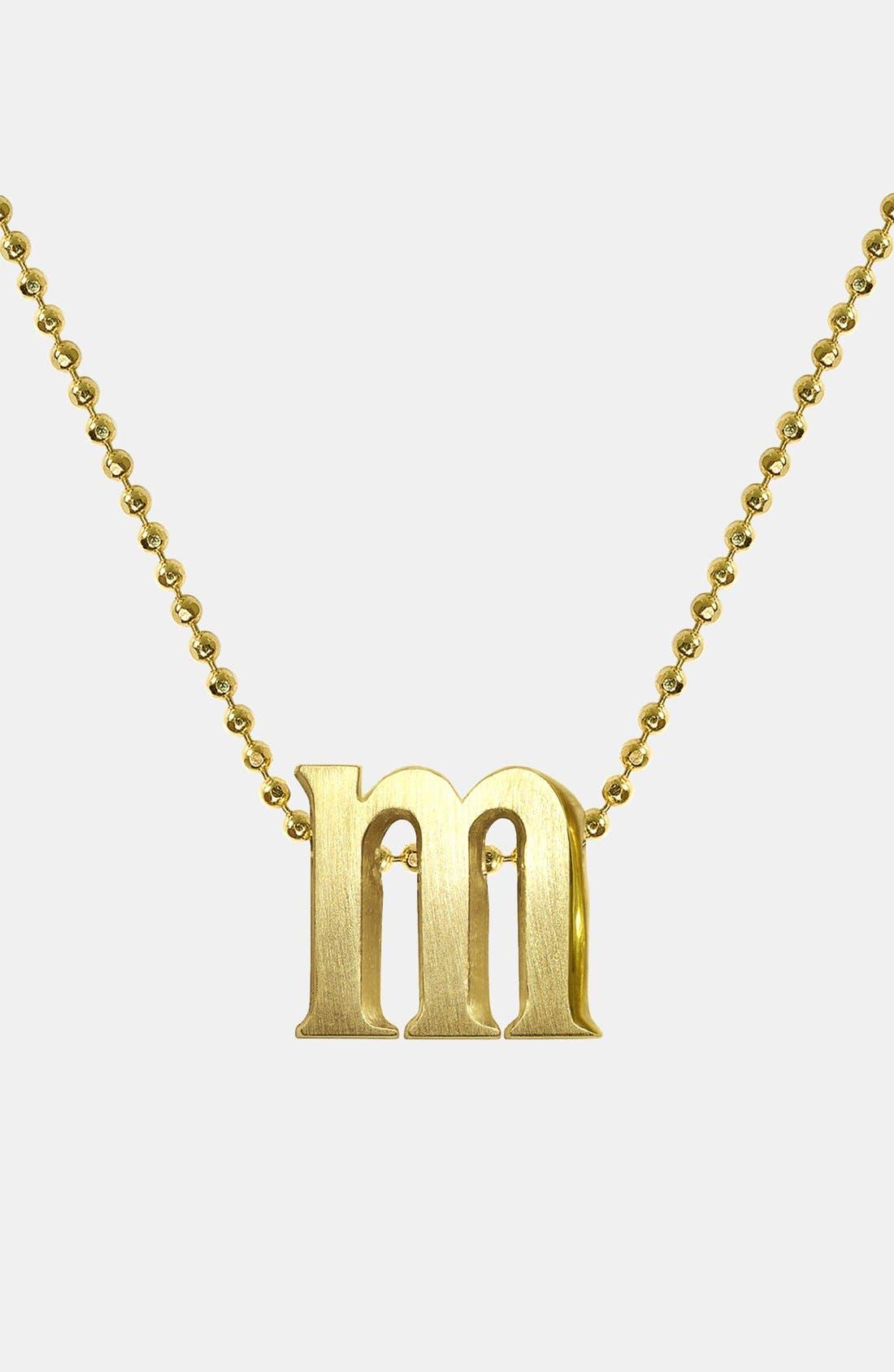 Alternate Image 1 Selected - Alex Woo 'Little Letters' Pendant Necklace