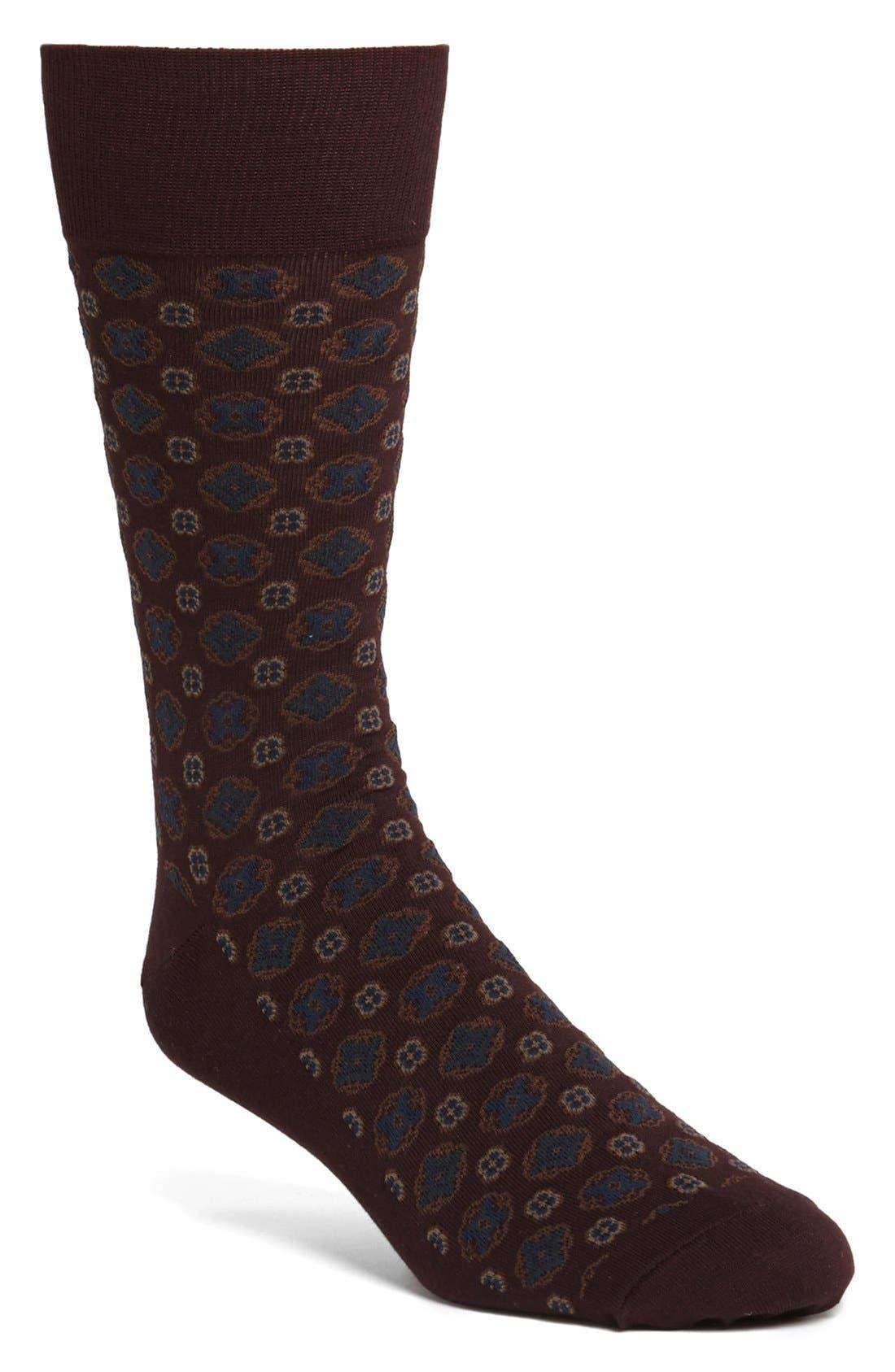 Alternate Image 1 Selected - Polo Ralph Lauren Dot Socks