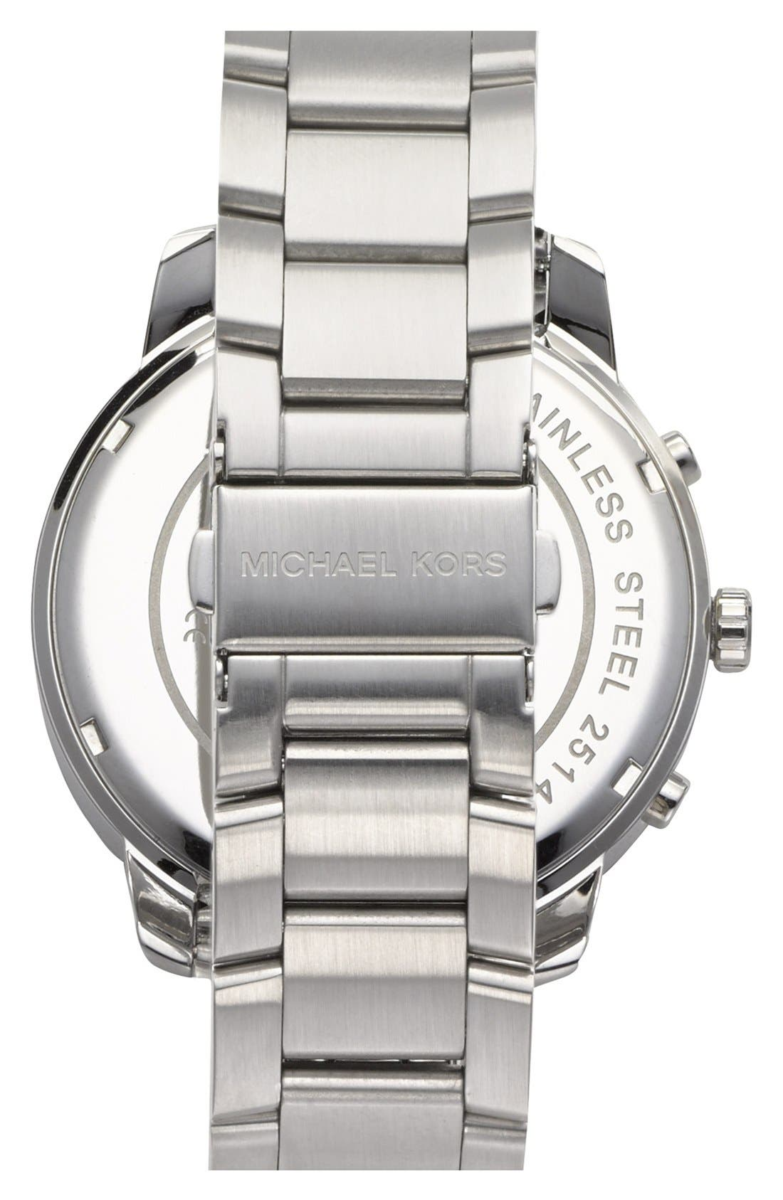 Alternate Image 3  - Michael Kors 'Granger' Chronograph Bracelet Watch, 45mm