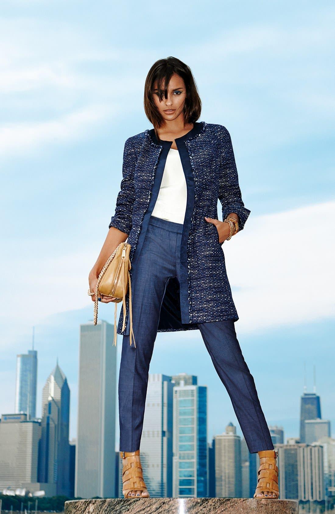 Alternate Image 5  - Lafayette 148 New York 'Irving - Regent Suiting' Pants