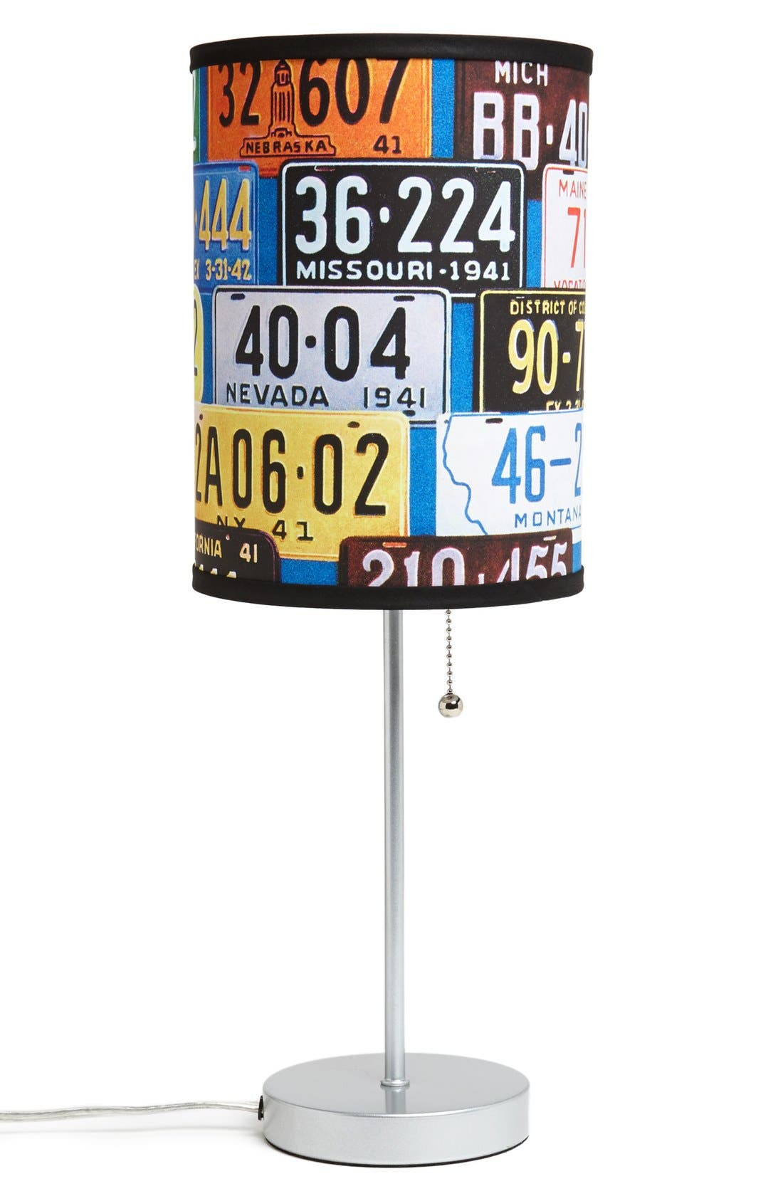 Alternate Image 3  - LAMP-IN-A-BOX 'License Plate' Table Lamp