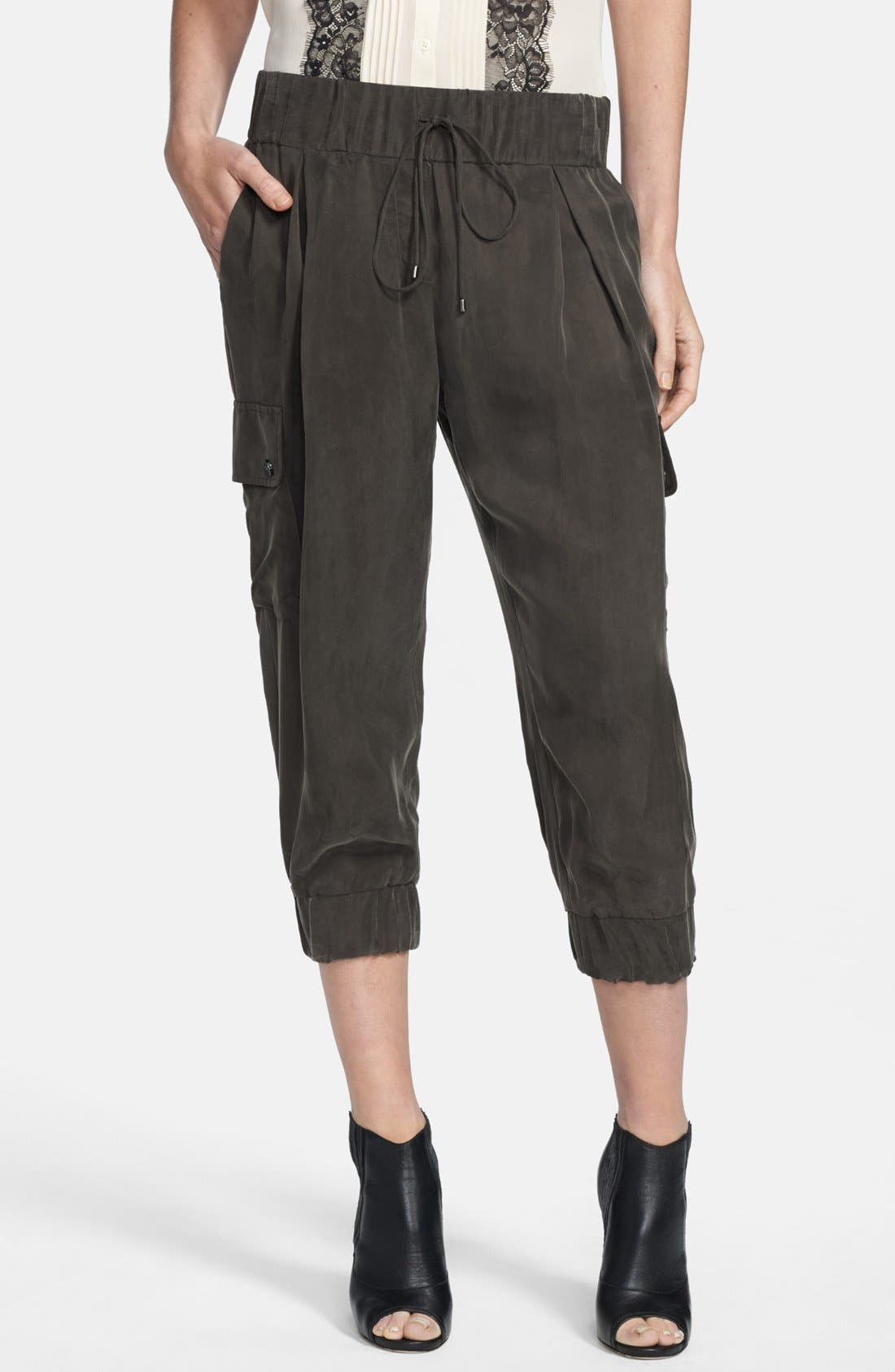 Alternate Image 1 Selected - Haute Hippie Crop Cargo Pants