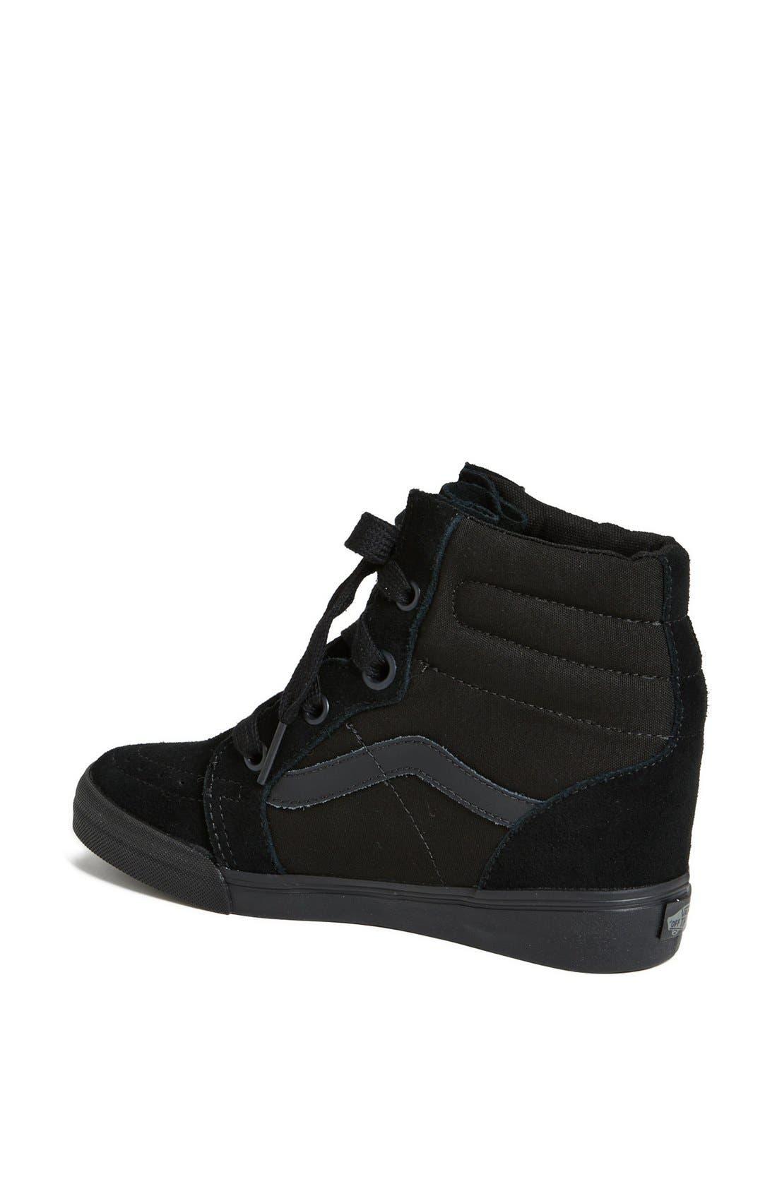 Alternate Image 2  - Vans 'Sk8 Hi' Wedge Sneaker (Women)
