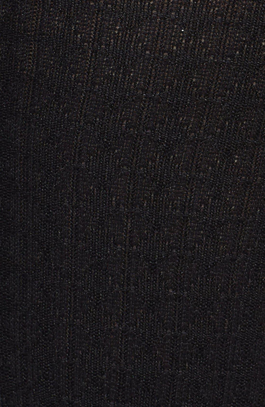Alternate Image 2  - Nordstrom Windowpane' Trouser Socks