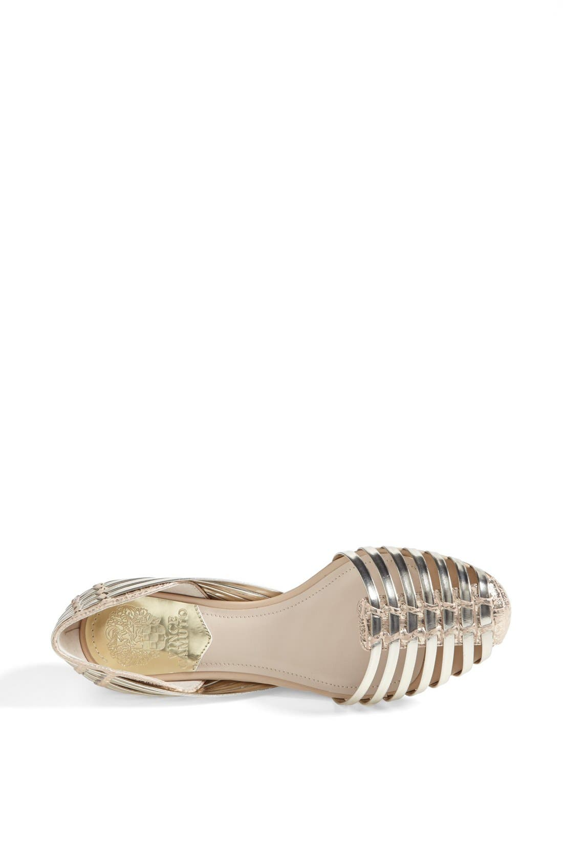Alternate Image 3  - Vince Camuto 'Caprio' Flat