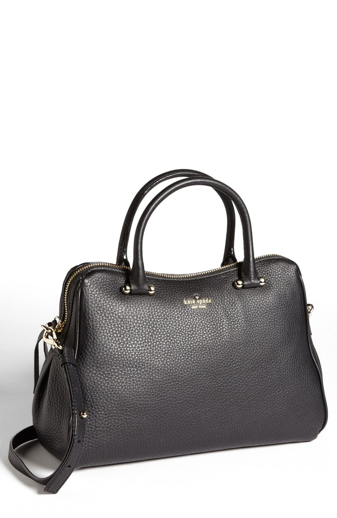 Main Image - kate spade new york 'charles street - audrey' leather satchel