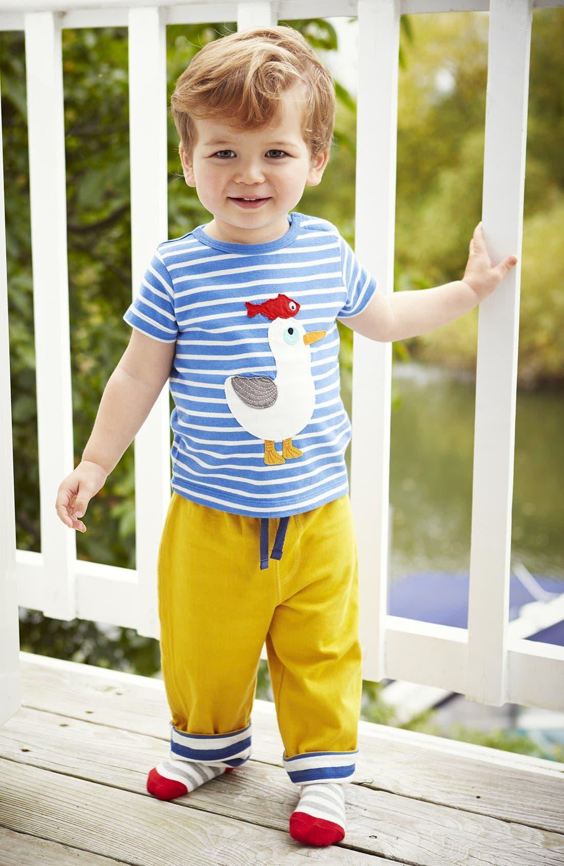 Alternate Image 2  - Mini Boden 'Seaside' Cotton T-Shirt (Baby Boys)