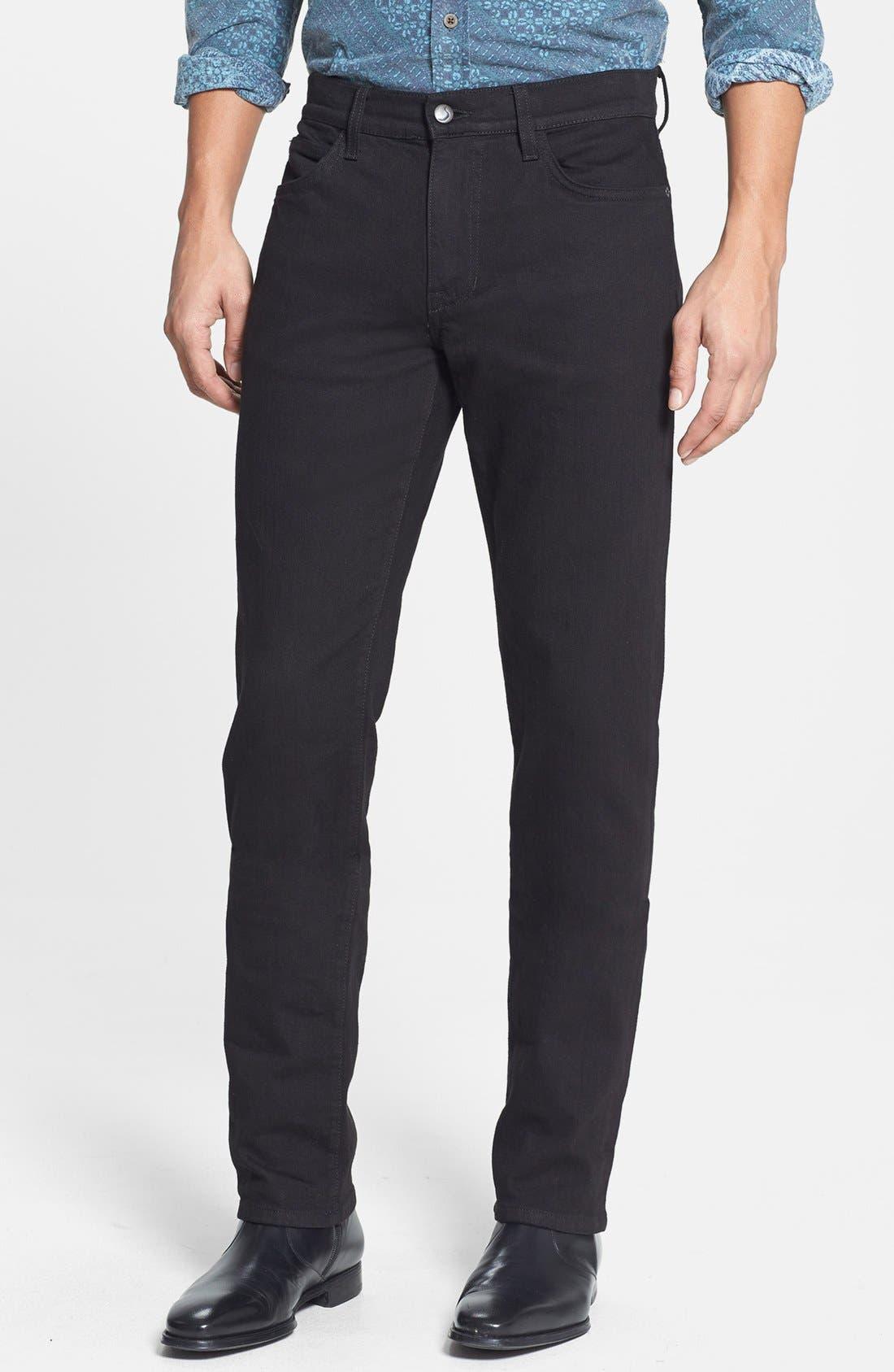 Alternate Image 1 Selected - Joe's 'Brixton' Slim Fit Jeans (Jet Black)