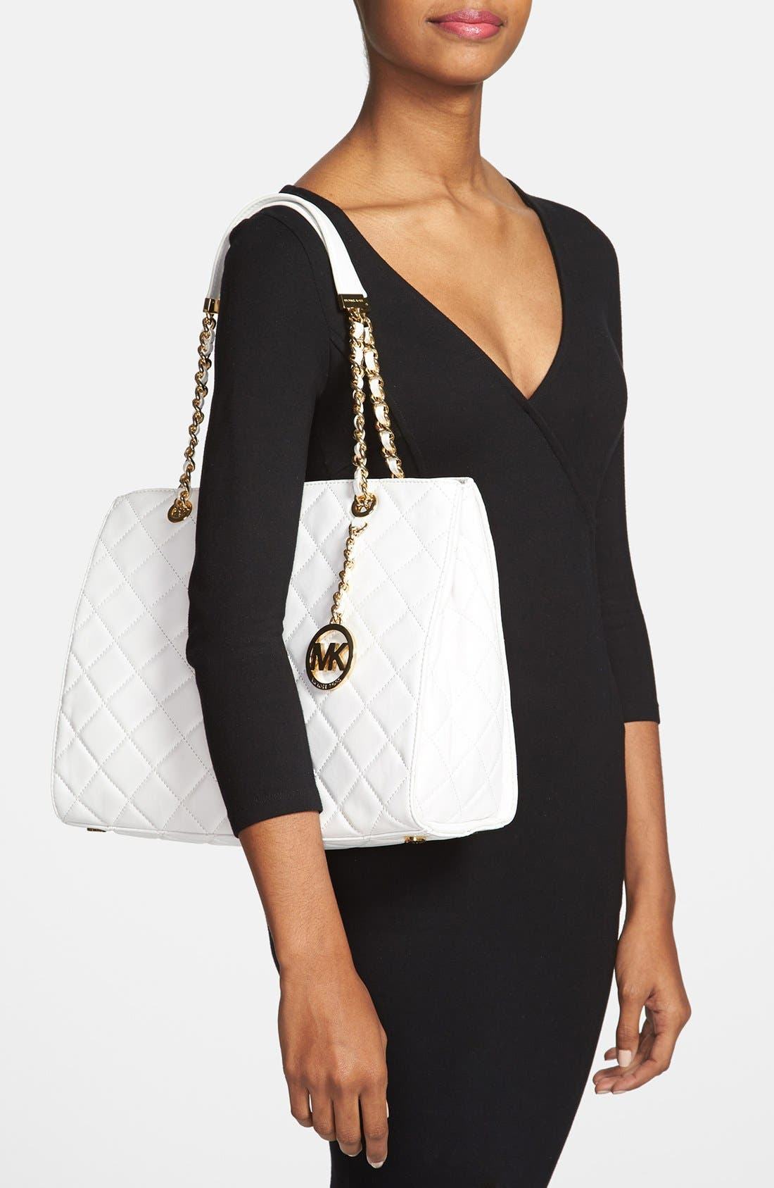 Alternate Image 2  - MICHAEL Michael Kors 'Susannah' Quilted Leather Tote