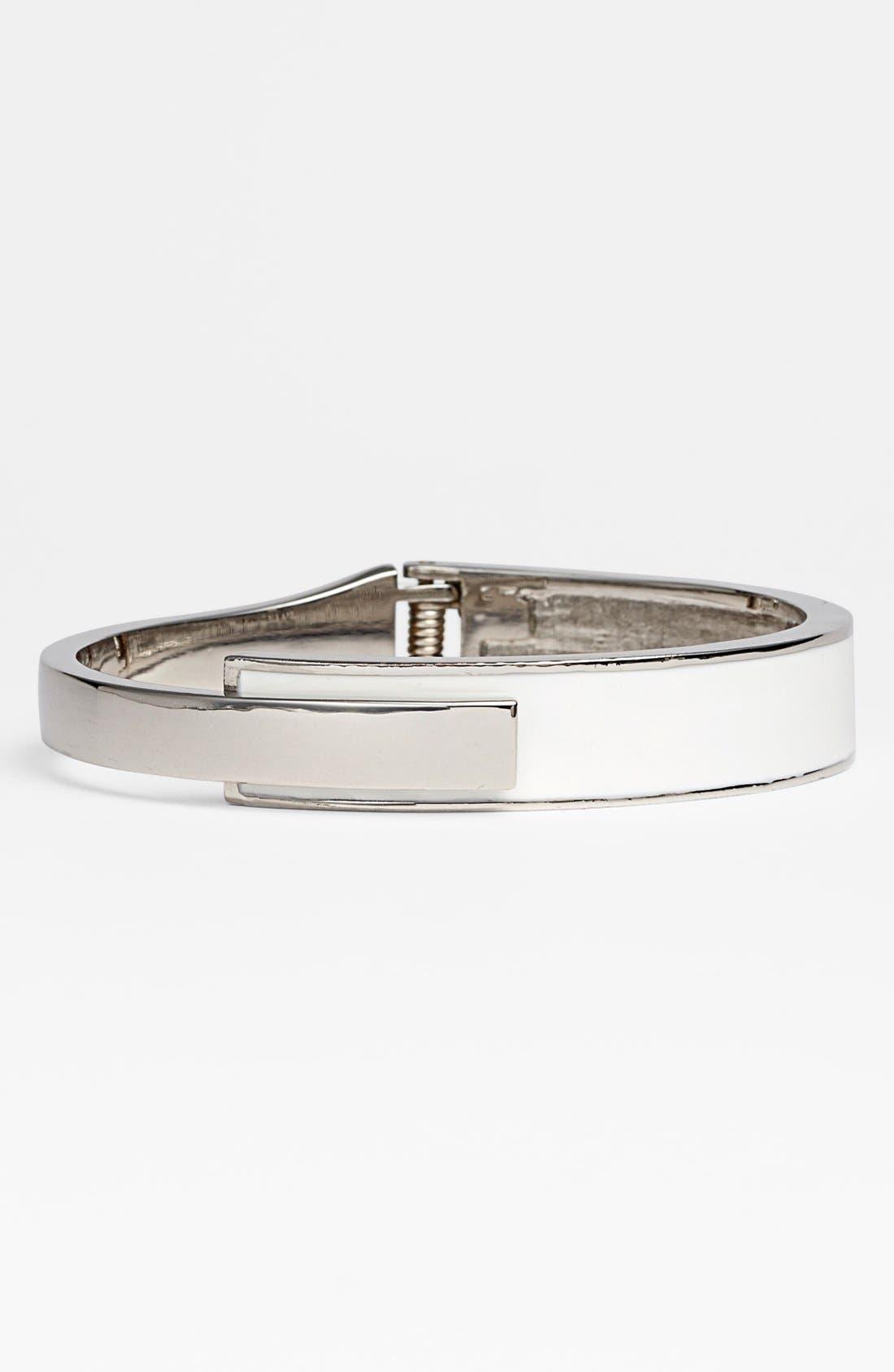 Alternate Image 1 Selected - Vince Camuto Enamel Hinged Bracelet (Nordstrom Exclusive)