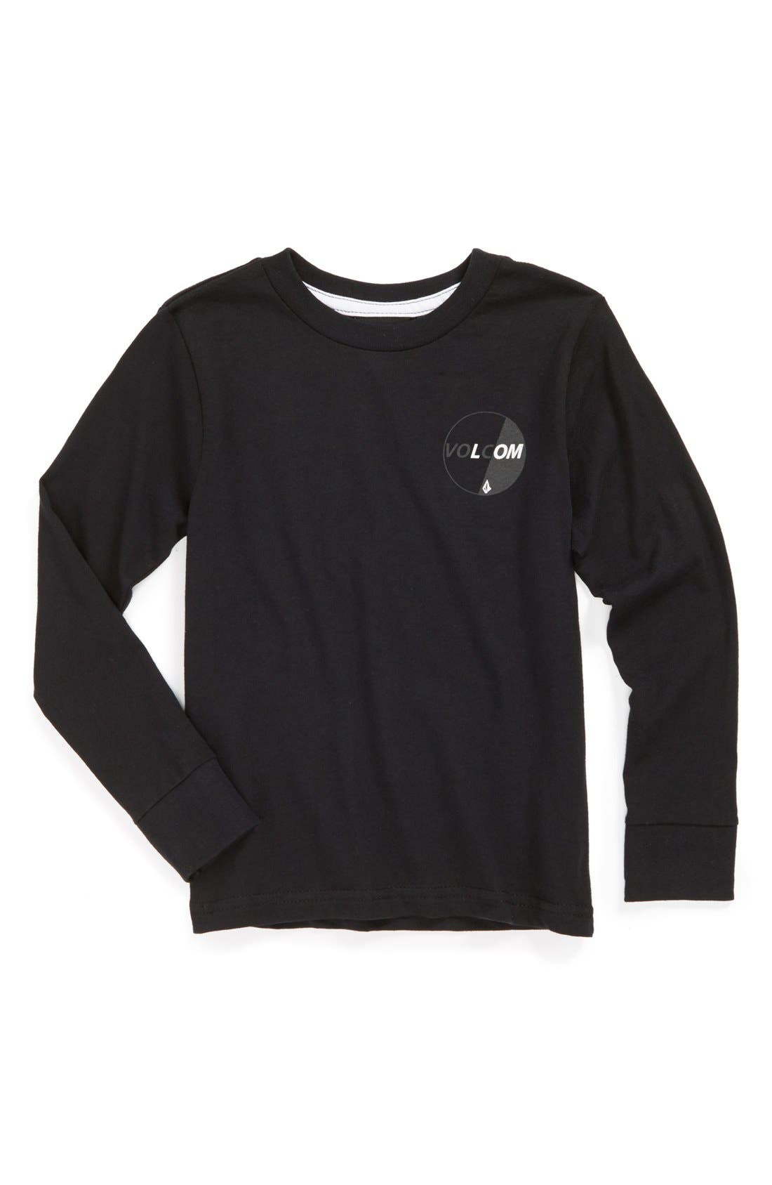 Alternate Image 1 Selected - Volcom 'Gummy Stone' Long Sleeve T-Shirt (Little Boys)