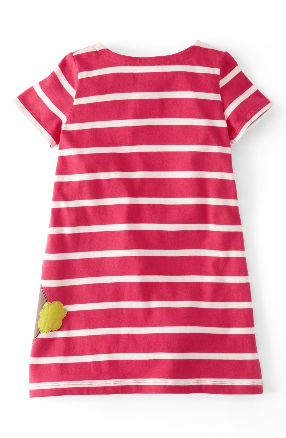 Alternate Image 2  - Mini Boden Appliqué Dress (Toddler Girls, Little Girls & Big Girls)