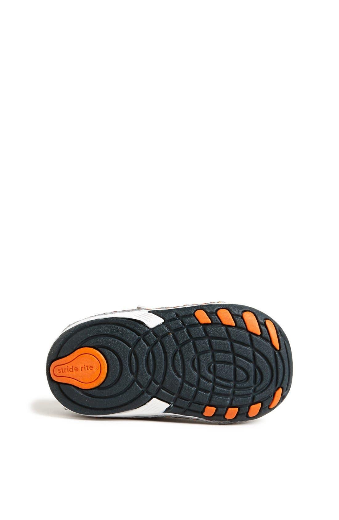 Alternate Image 4  - Stride Rite 'Damien' Sneaker (Baby & Walker)
