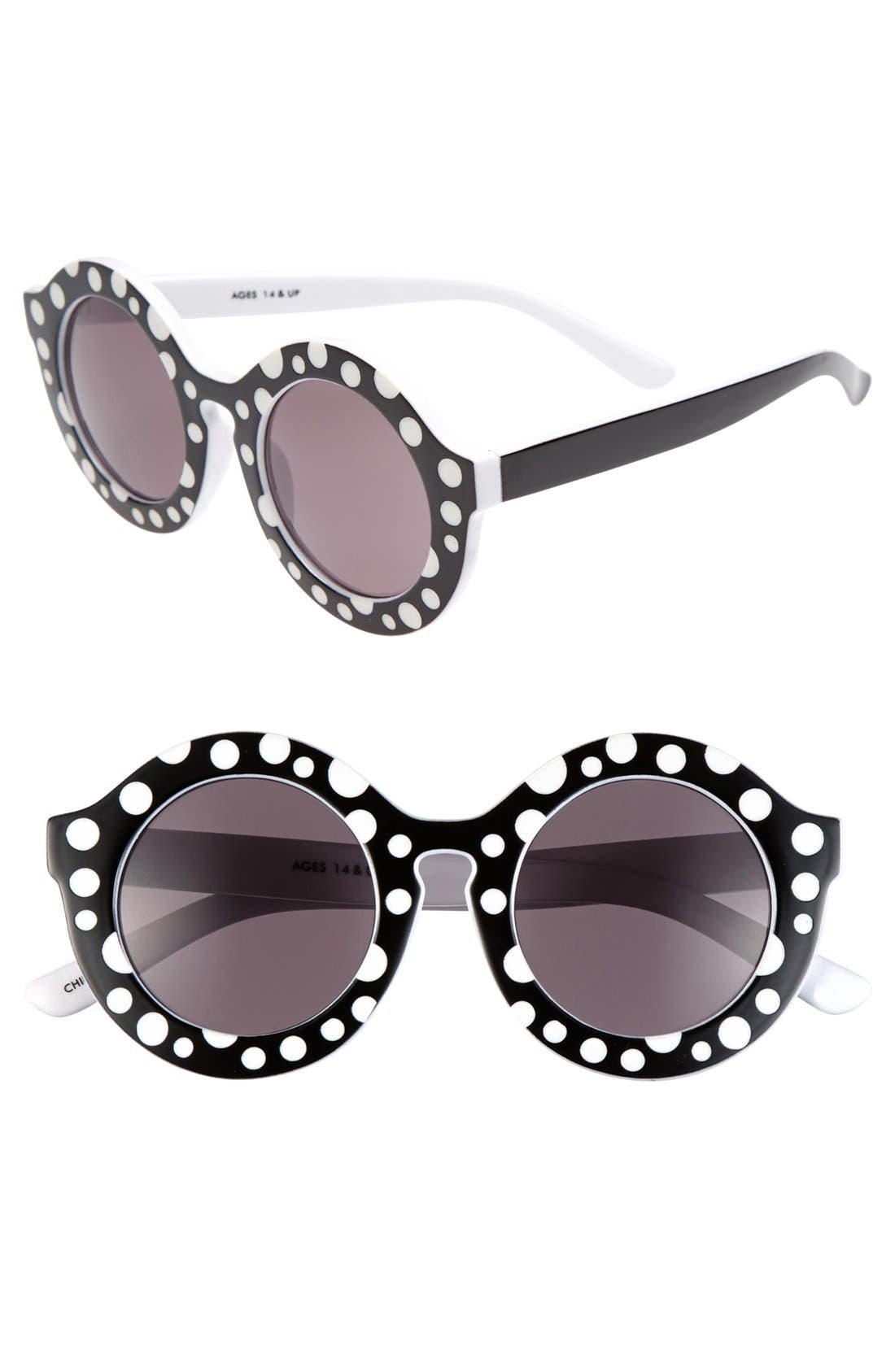 Alternate Image 1 Selected - FE NY 'Blizzard' 46mm Sunglasses
