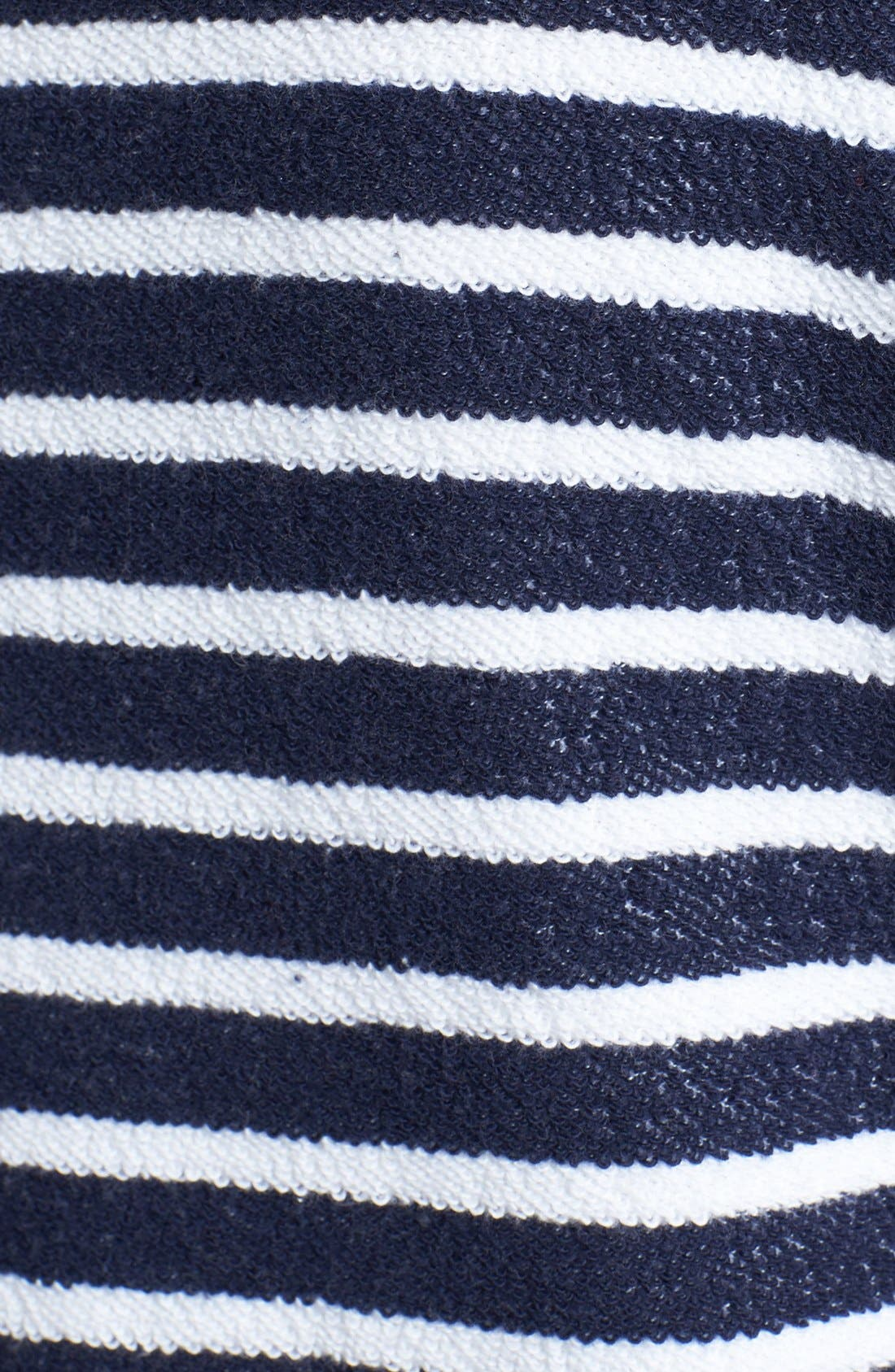 Alternate Image 3  - Sejour Nautical Stripe Terry Top (Plus Size)