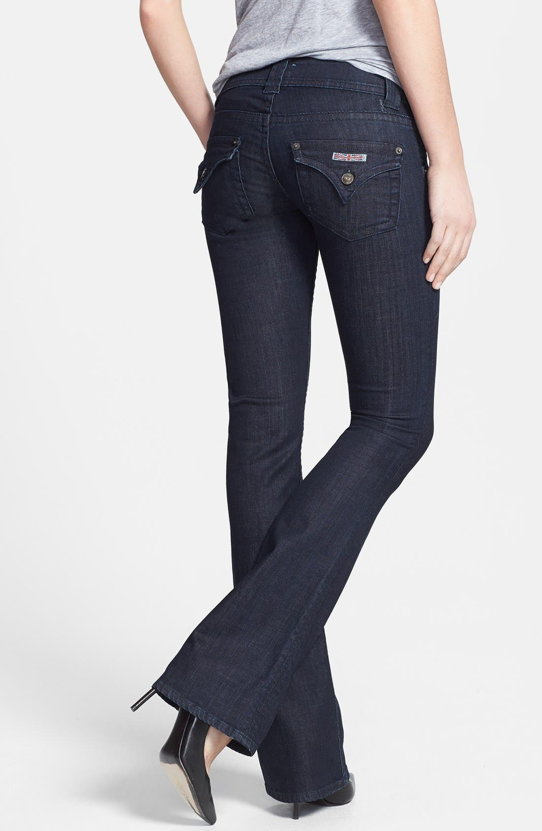 Alternate Image 2  - Hudson Jeans Mid Rise Bootcut Jeans (Northern Star)