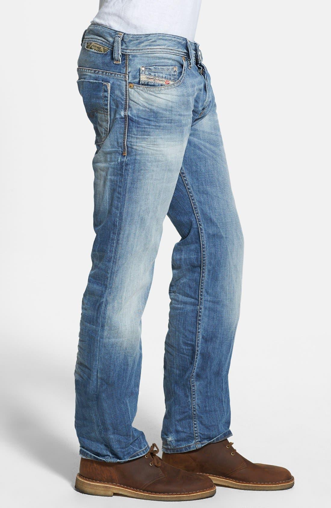 Alternate Image 3  - DIESEL® 'Safado' Slim Fit Jeans (826D)