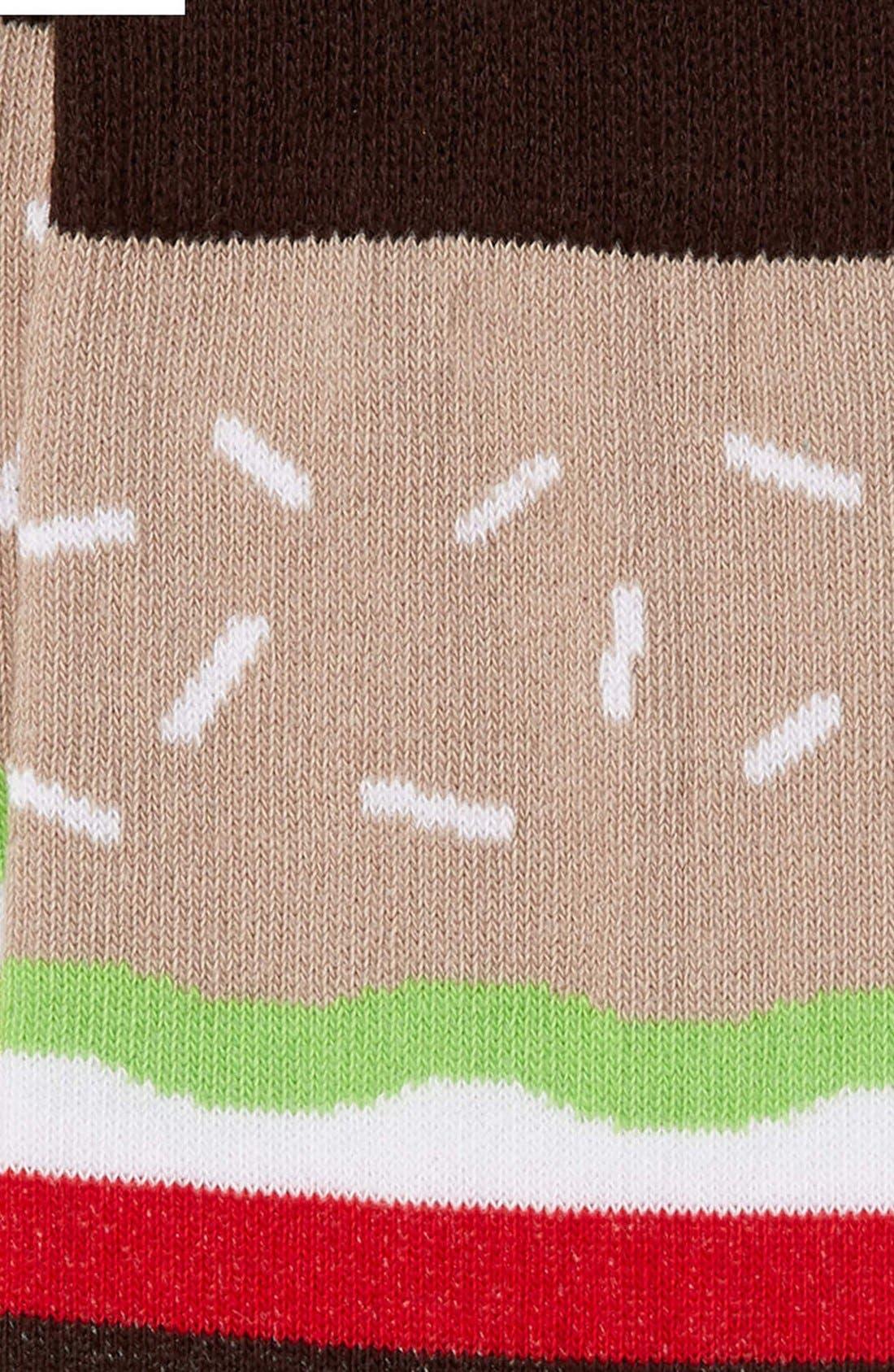 Alternate Image 2  - Topman Burger Pattern Socks