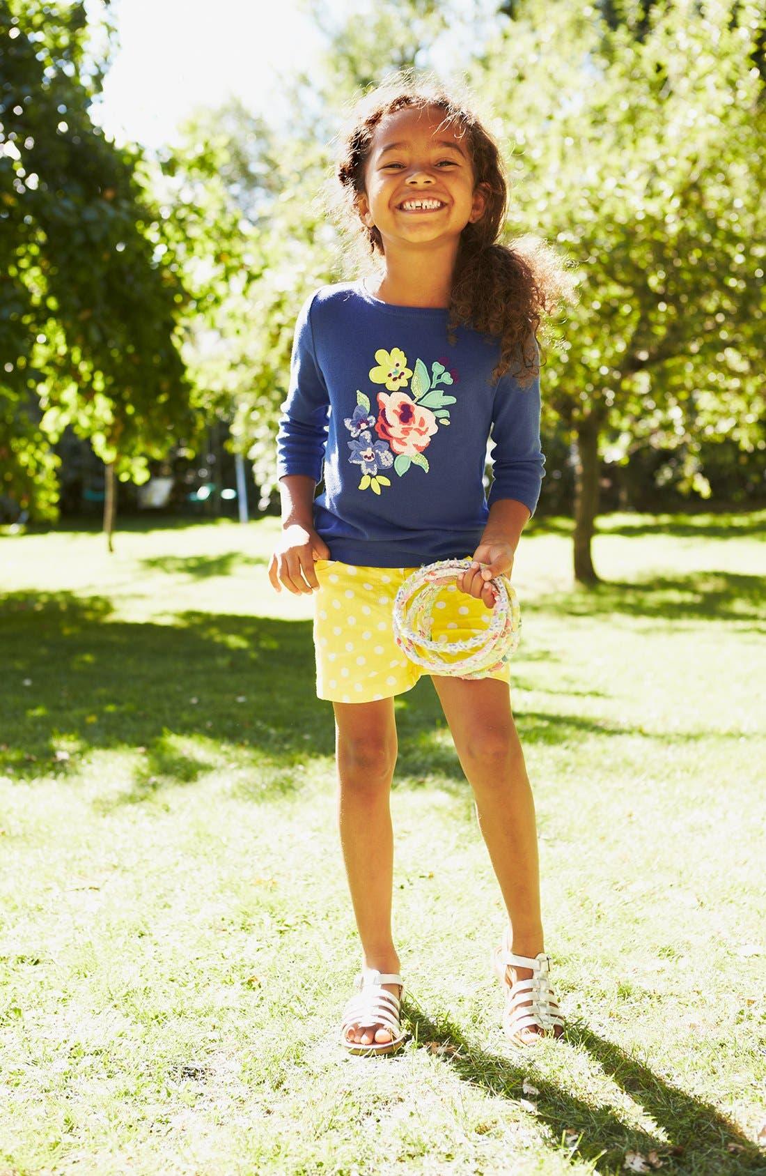 Alternate Image 2  - Mini Boden 'Twinkly' Long Sleeve Tee (Toddler Girls, Little Girls & Big Girls)