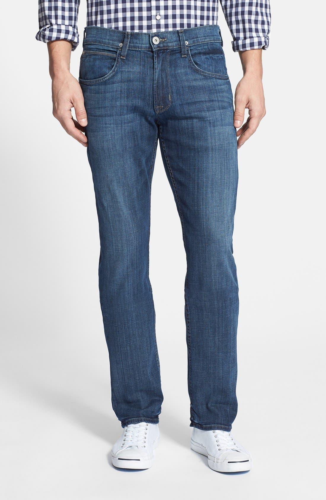 Alternate Image 1 Selected - Hudson Jeans 'Byron' Slim Straight Leg Jeans (Harris)