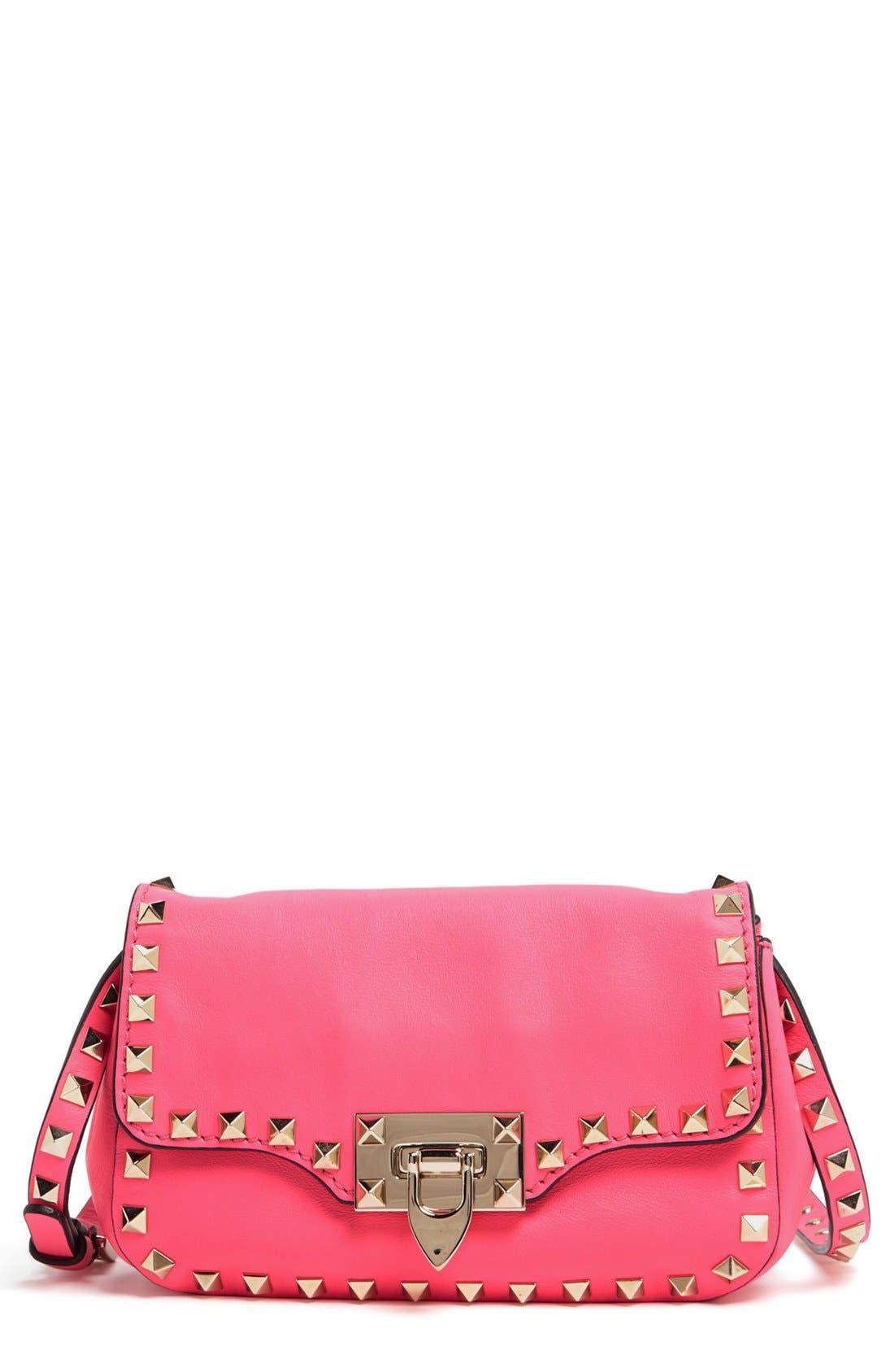 Main Image - Valentino 'Small Rockstud' Flap Bag
