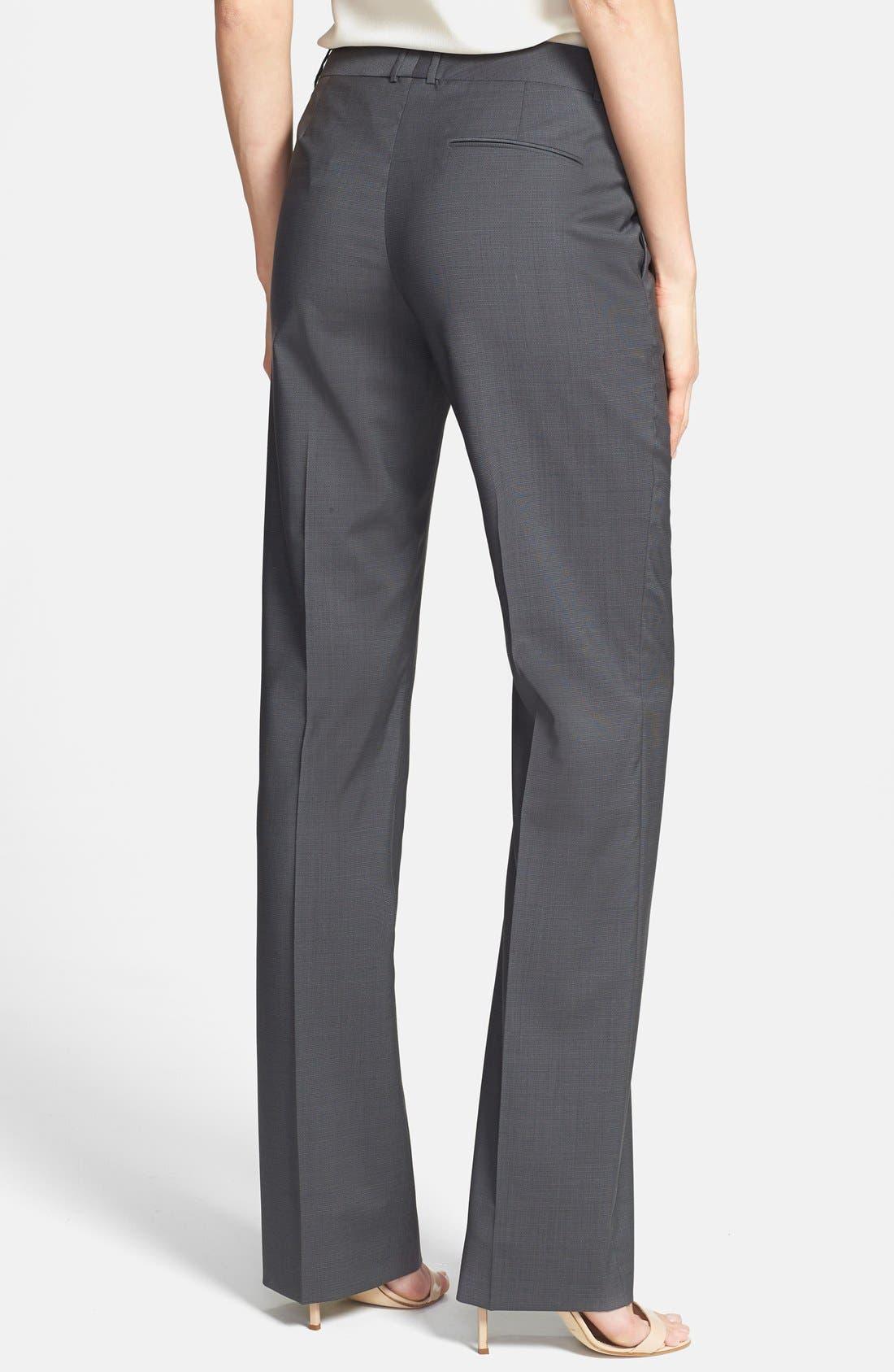 Alternate Image 2  - BOSS HUGO BOSS 'Taliani' Stretch Wool Blend Pants