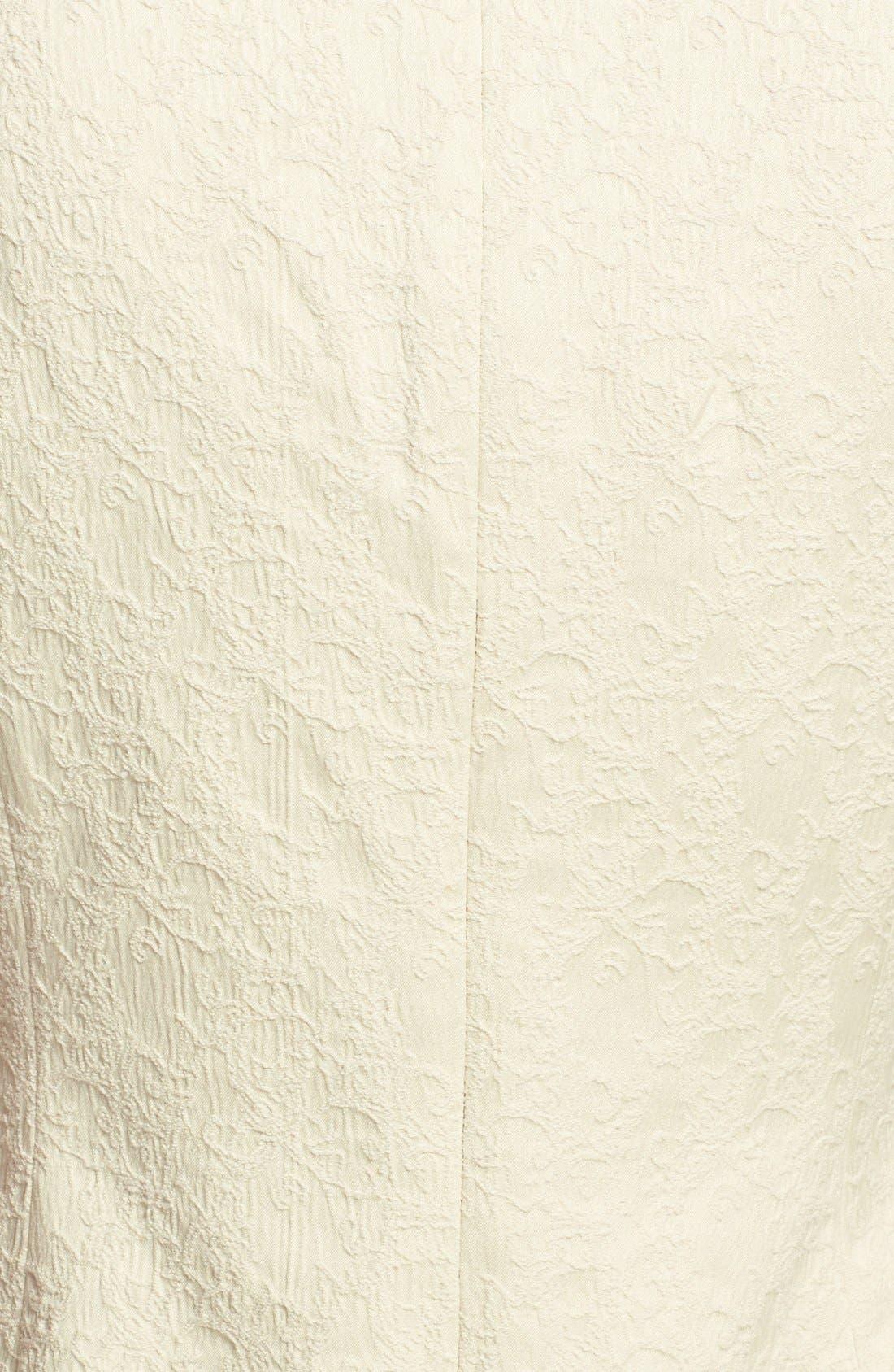 Alternate Image 4  - Adrianna Papell Embellished Jacquard Sheath Dress