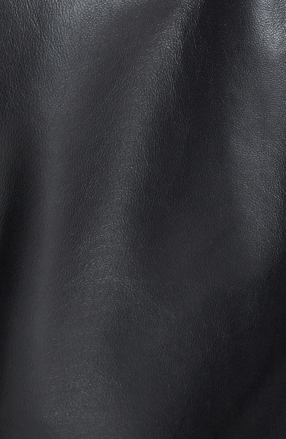 Alternate Image 3  - Cascade Leather Jacket