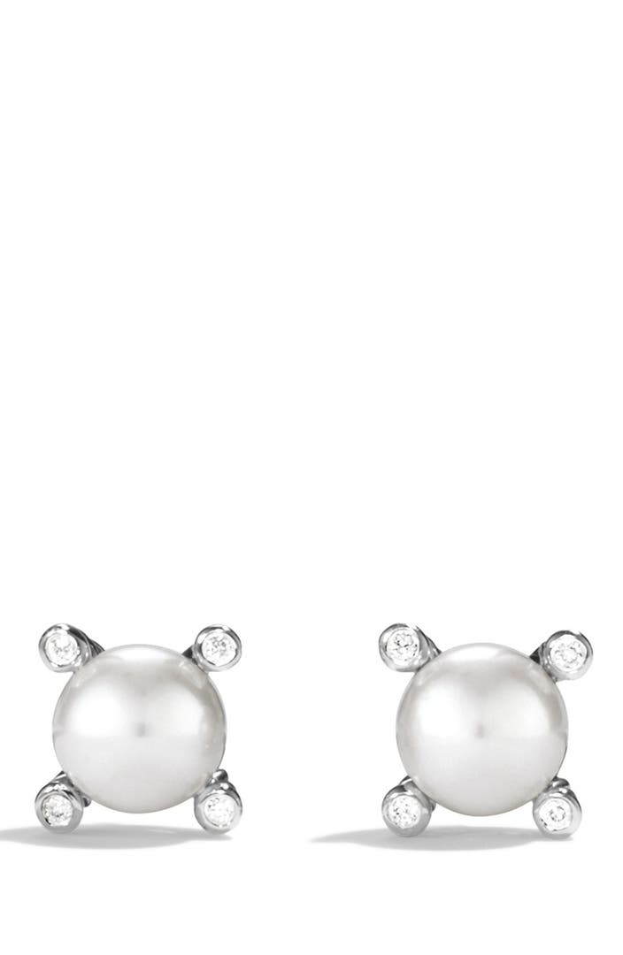 david yurman earrings nordstrom david yurman small pearl earrings with diamonds nordstrom 5399