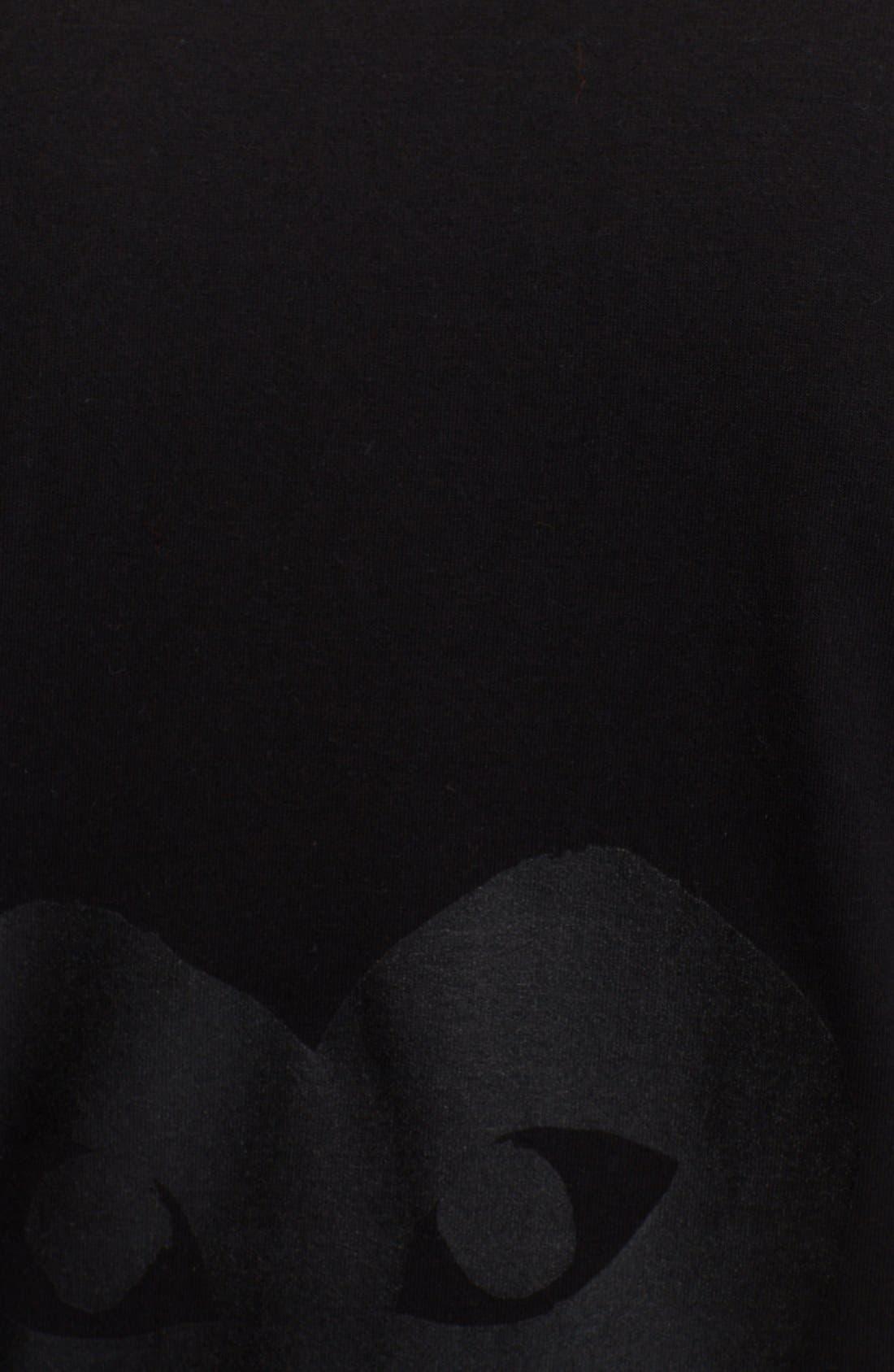 Alternate Image 3  - Comme des Garçons PLAY Inverted Heart Print T-Shirt