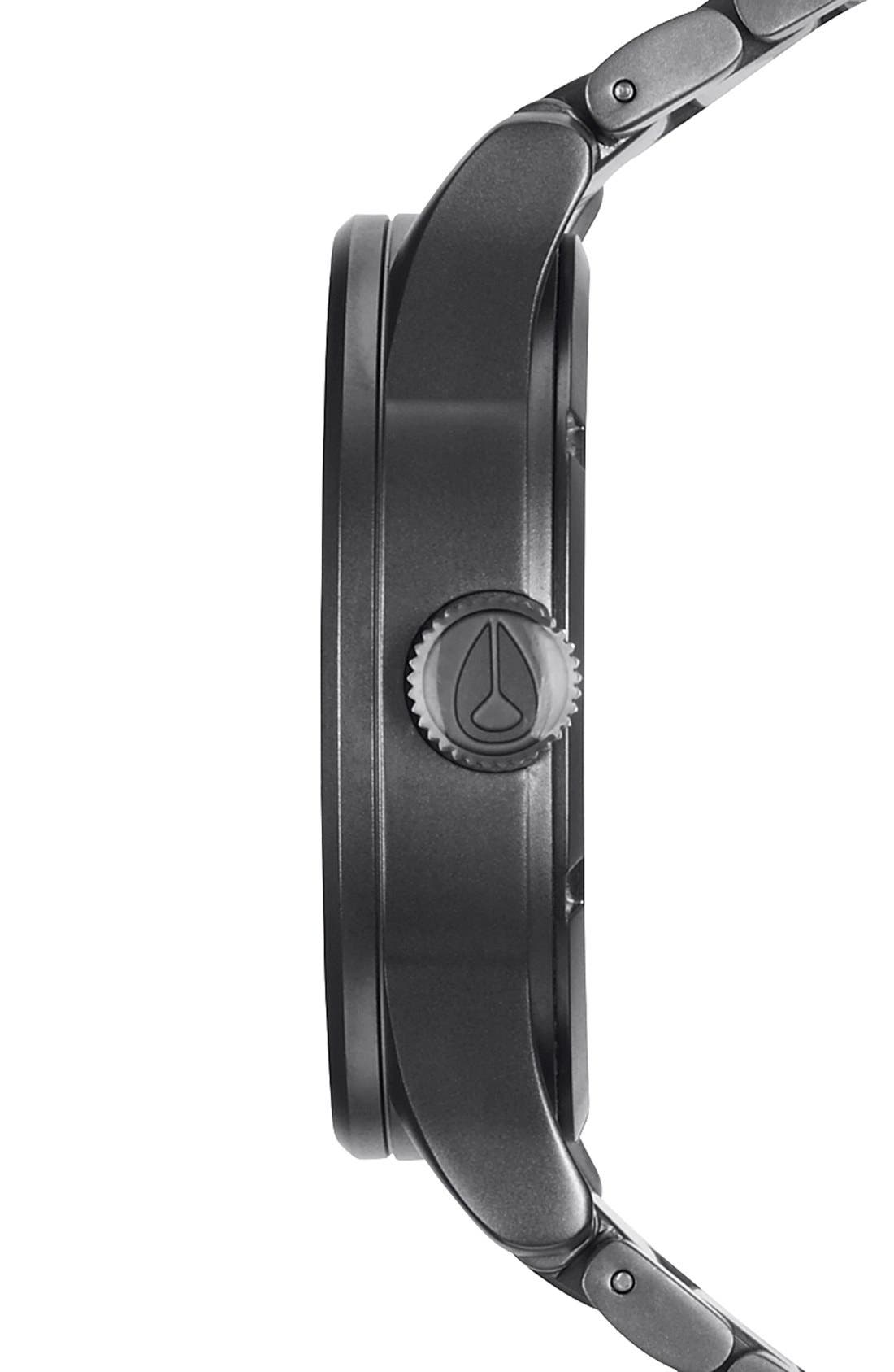 Alternate Image 3  - Nixon Sentry Bracelet Watch, 42mm