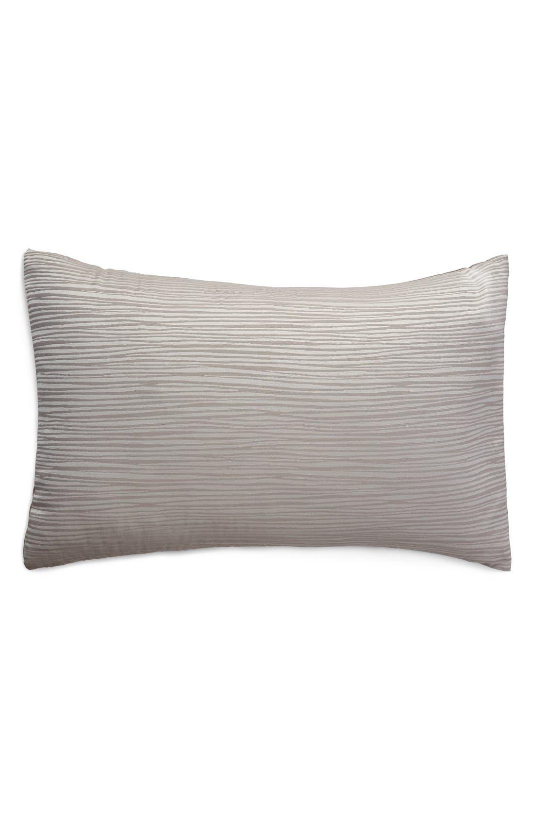Donna Karan Collection 'Reflection' Sham,                         Main,                         color, Silver