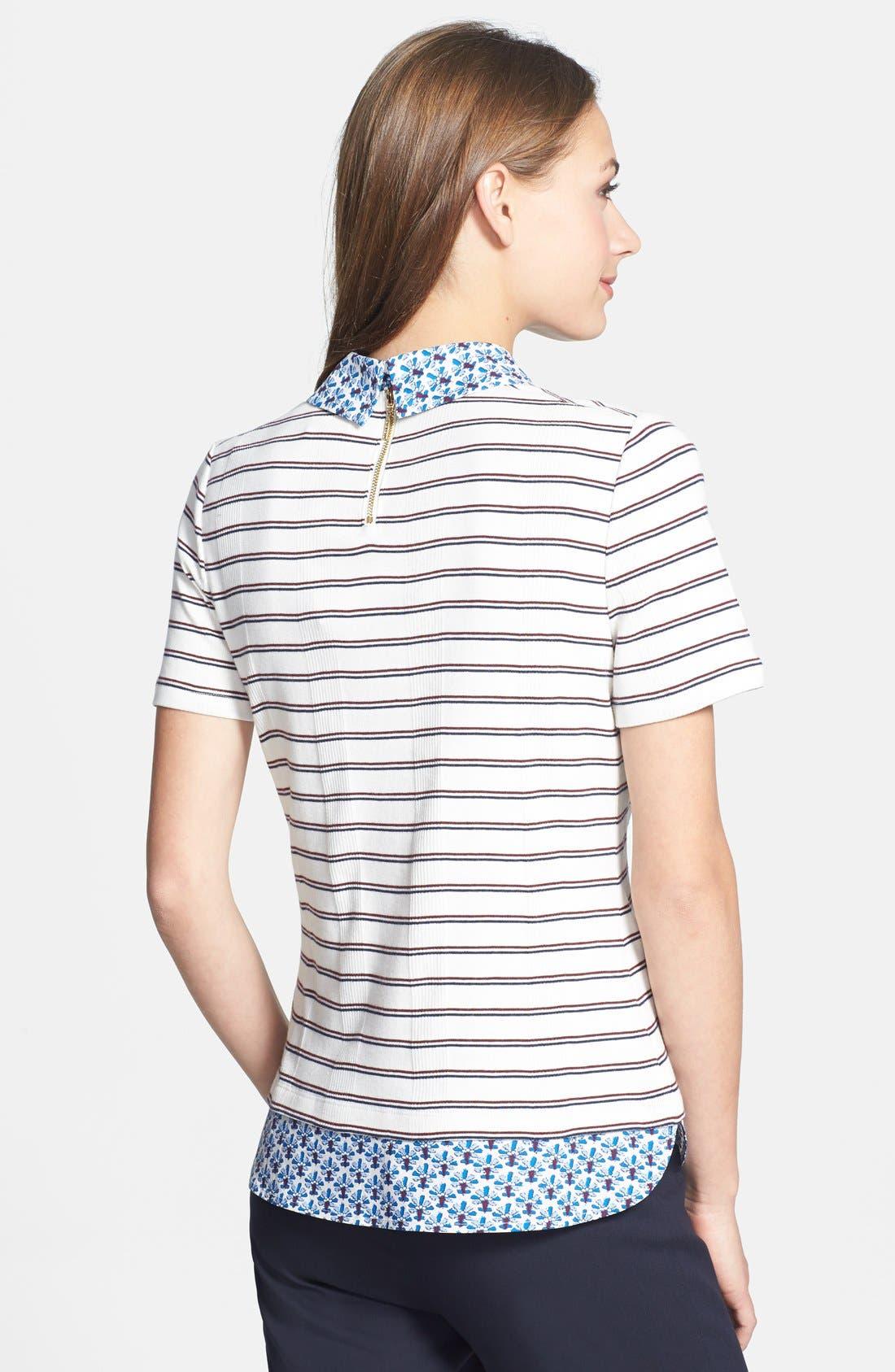Alternate Image 2  - Tory Burch 'Alexandria' Cotton Top