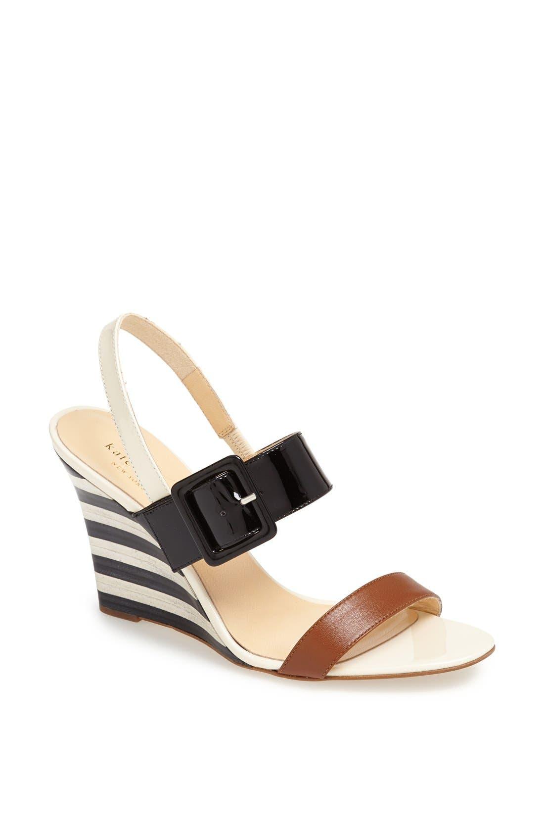 Alternate Image 1 Selected - kate spade new york 'isola' wedge sandal